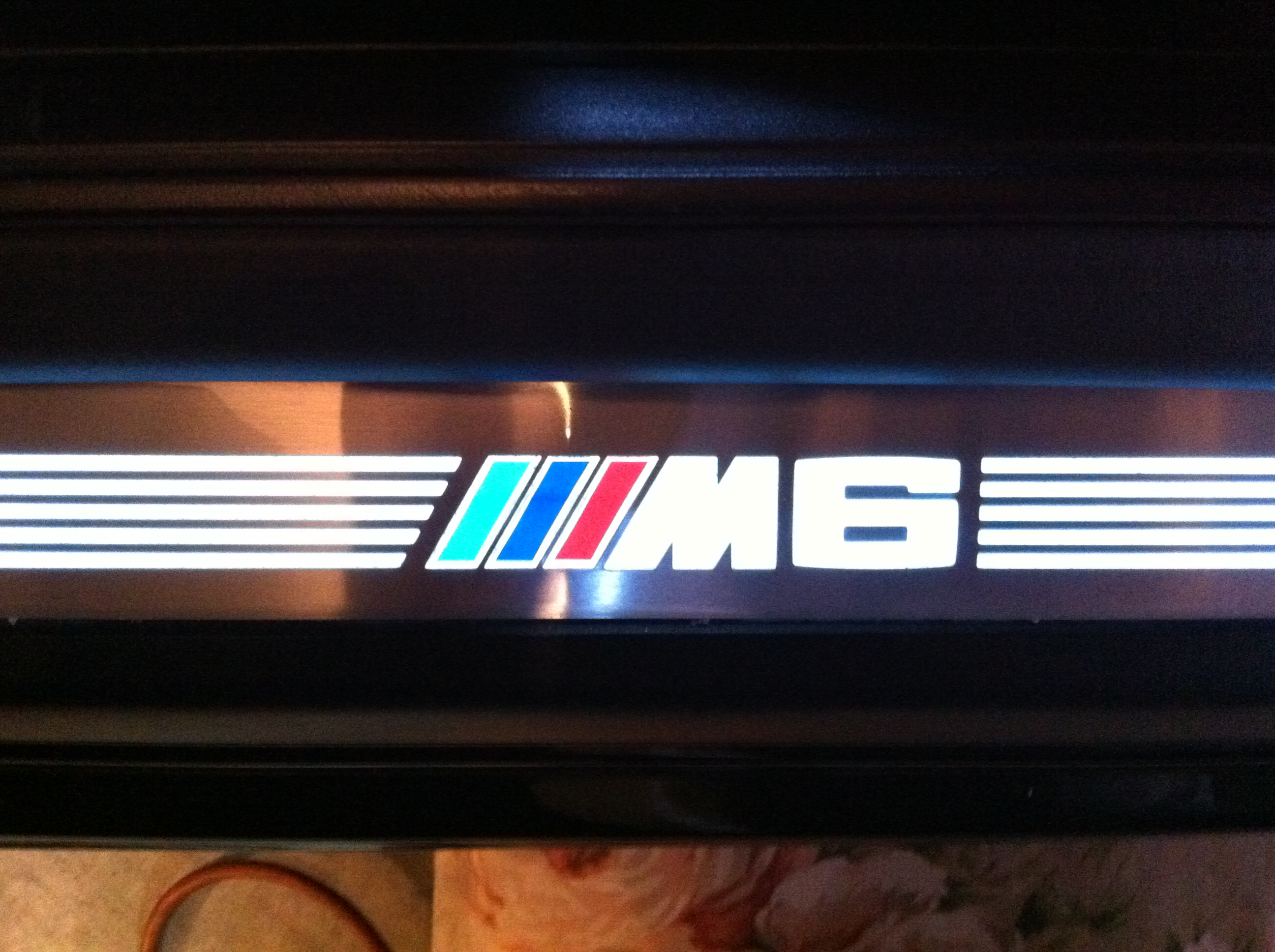 DYI Illuminated Door Sill Mod  BMW M5 Forum and M6 Forums