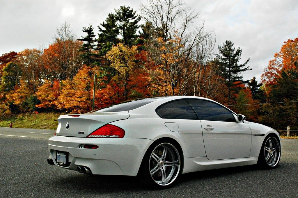 E63 0310 For Sale 2008 BMW M6  WhiteRed  LOW KM  EXCELLENT