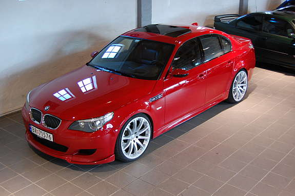 Pics 2006 Imola Red M5 E60 By Hartge Bmw M5 Forum And