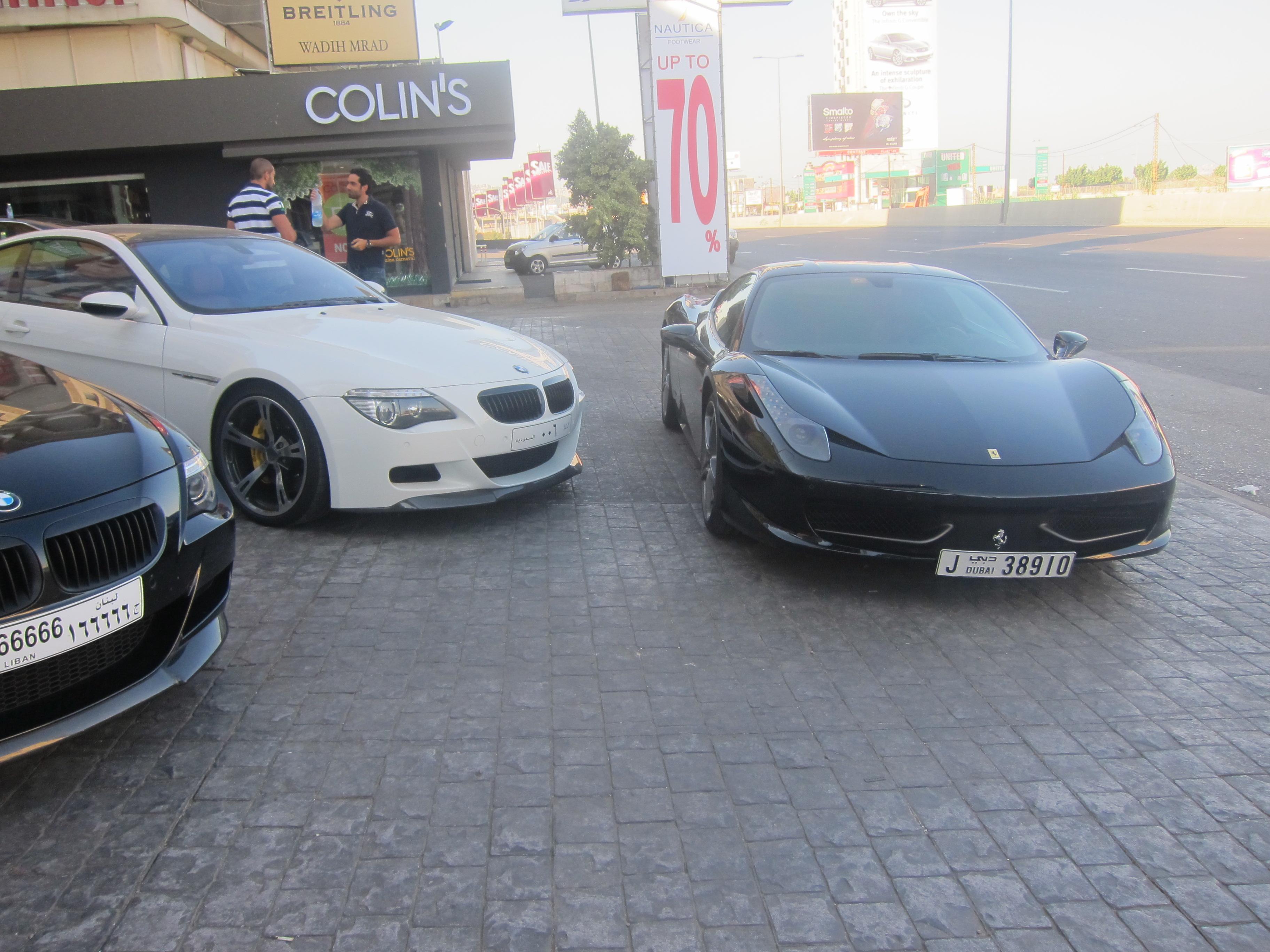 Kelleners M6 vs Ferrari 458