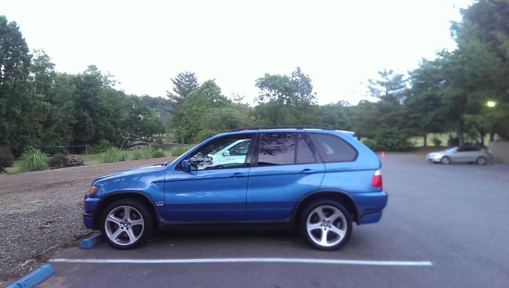 BMW For Sale BMW X5 46is Estoril Blue  Rare  BMW M5 Forum and