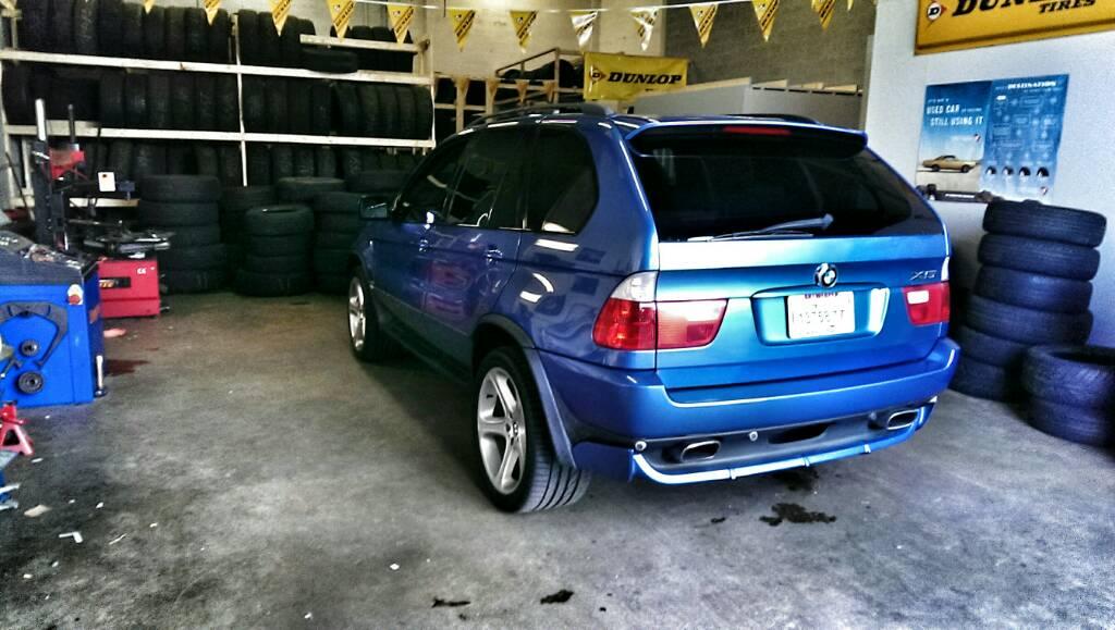 BMW For Sale BMW X5 4.6is Estoril Blue - Rare - BMW M5 Forum and M6 ...