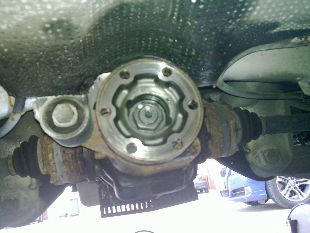 Differential Input Shaft Sealing Diy Page 8 Bmw M5