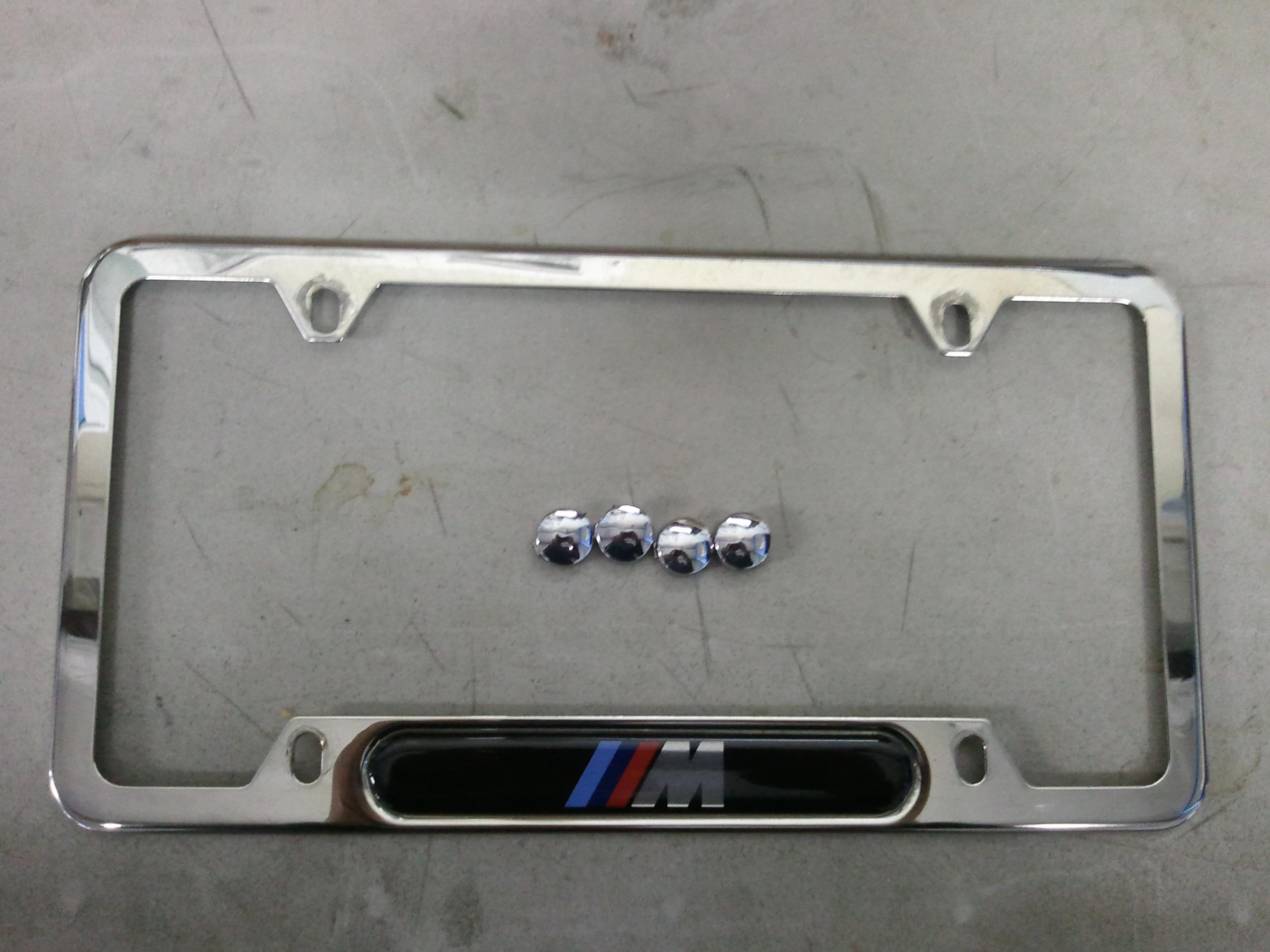 E39 (96-03) For Sale BMW ///M license plate frame. (Chrome) - BMW M5 ...