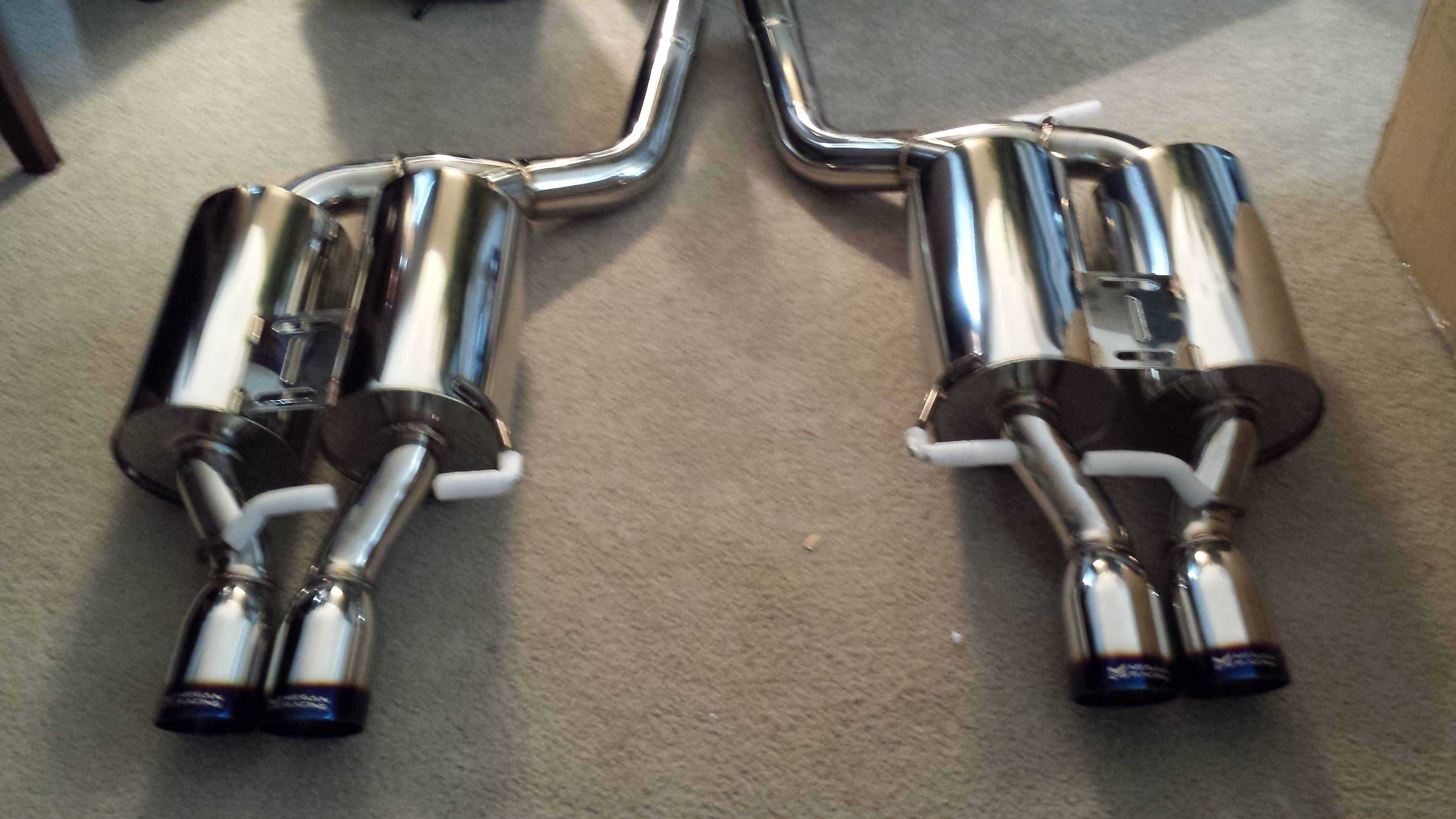 E60 M5 Exhaust From Oem To Megan Oe Rs Catback My Experience Page 6 Bmw M5 Forum And M6 Forums