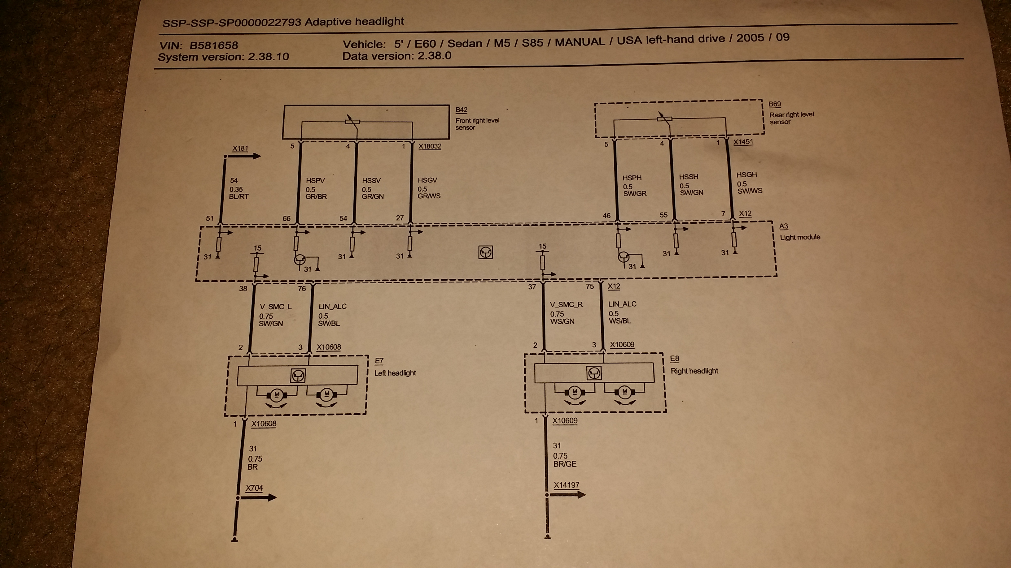 Pre-LCI Wiring diagrams inside - BMW M5 Forum and M6 Forums