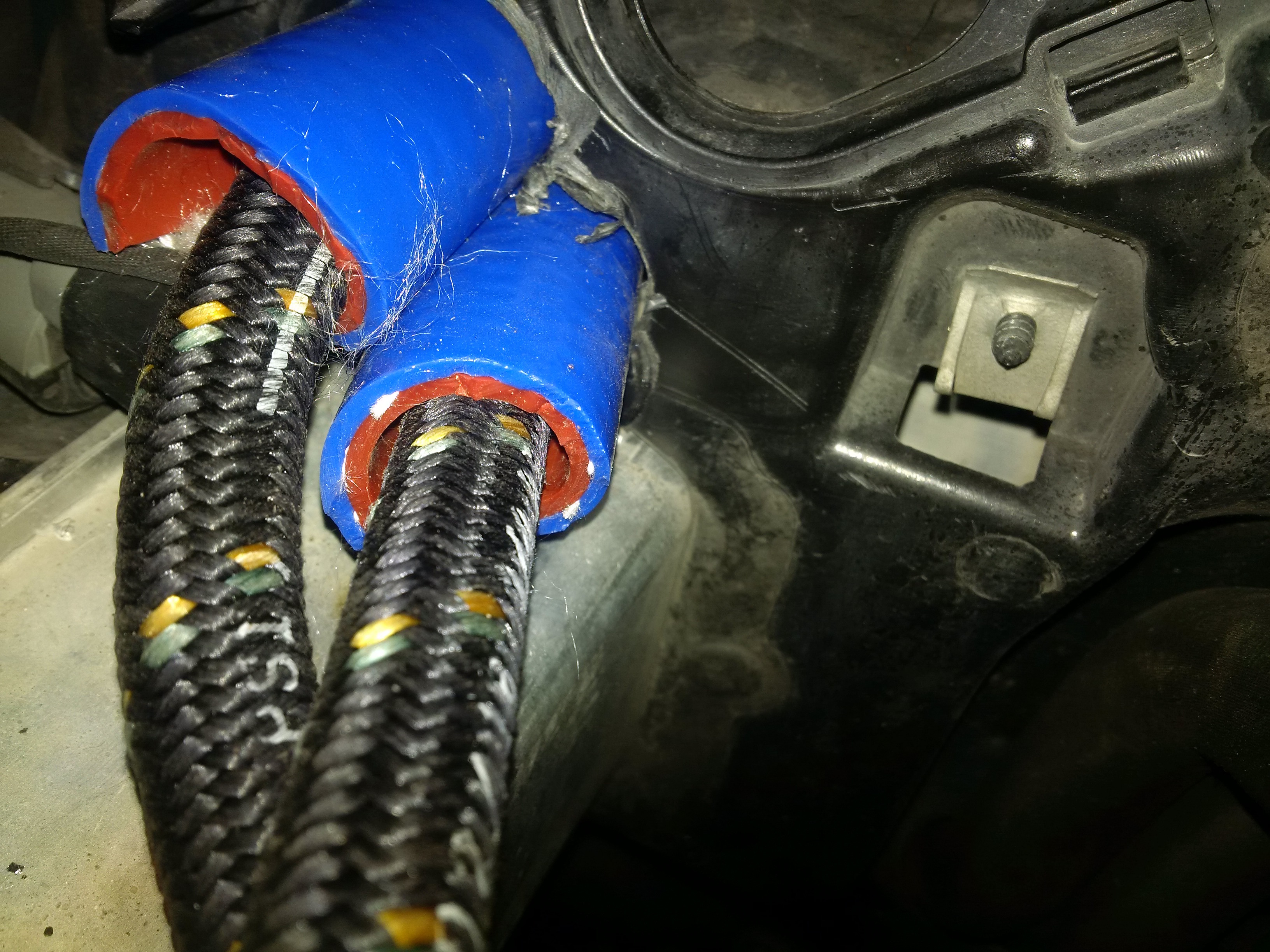 My new (to me) e60 M5: Tire Tracks on the soul-20161007-bypass-oil-2.jpg