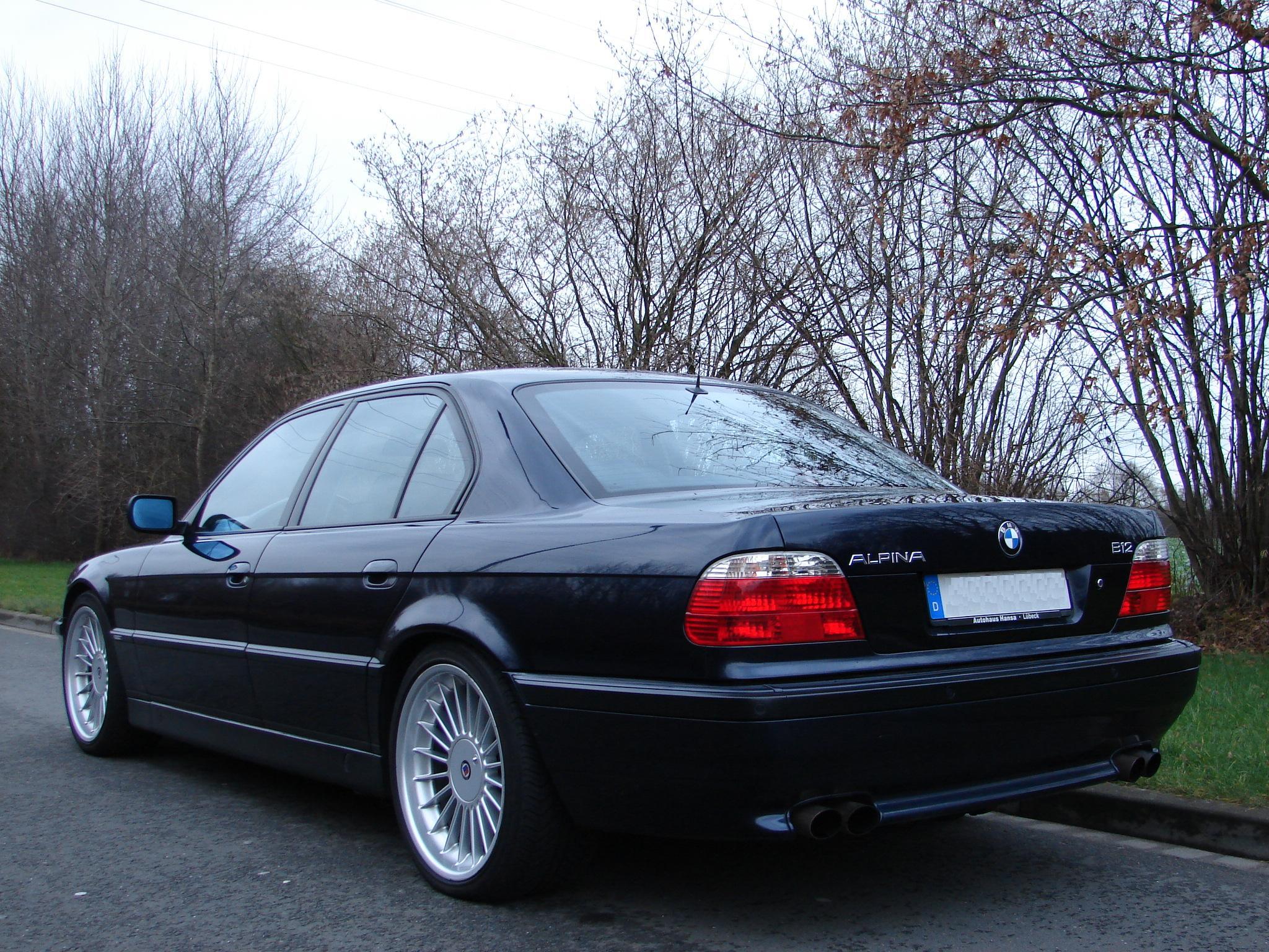 Nice Alpina B12 5,7 Limousine for sale short wheelbase - BMW M5 ...
