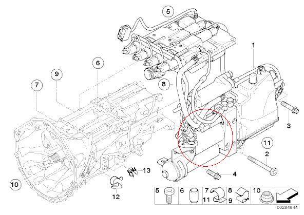bmw m3 smg transmission diagram