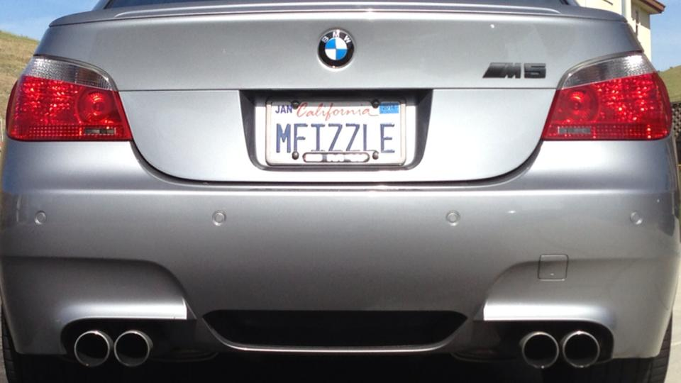 Custom plate tease! - BMW M5 Forum and M6 Forums