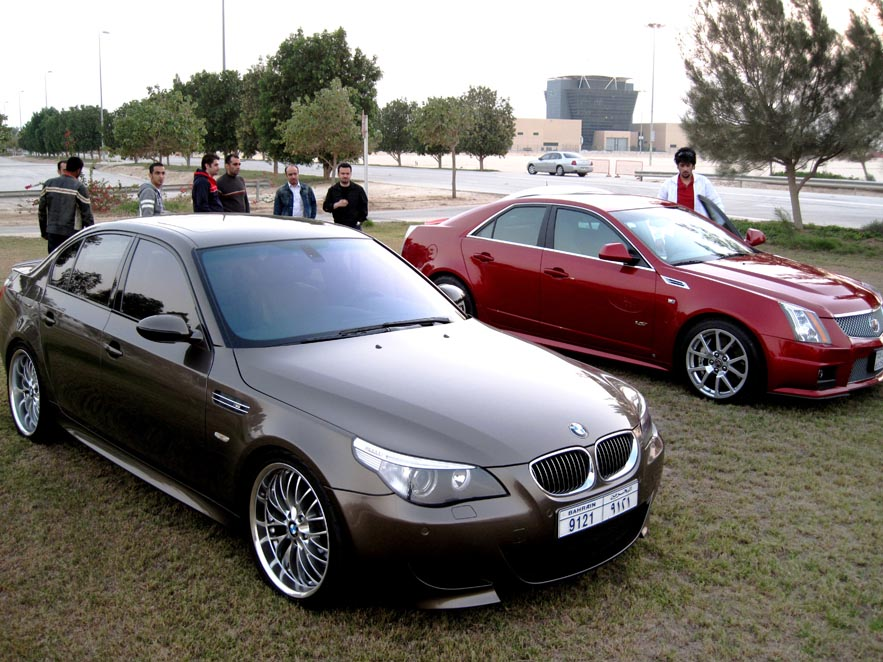 bmw e60 m5 with headers or cts v bmw m5 forum and m6 forums. Black Bedroom Furniture Sets. Home Design Ideas