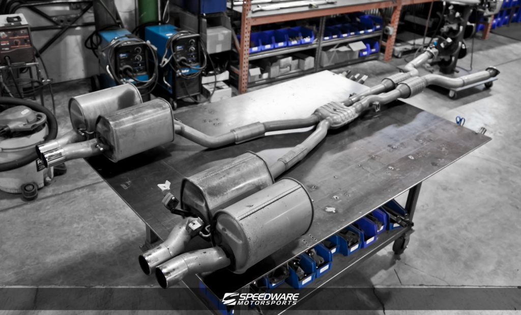 Click Image For Larger Version Name Mg2751 Views 4621 Size 3640: BMW E60 M5 Exhaust At Woreks.co