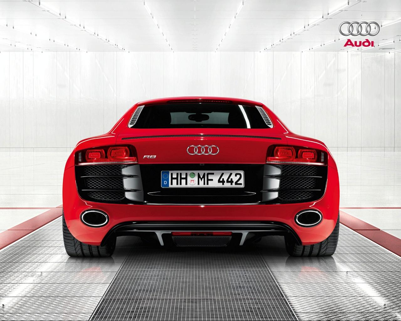 Official, Audi R8 V10 press