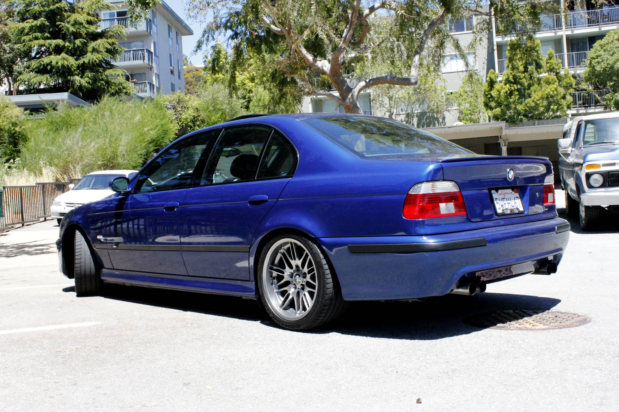 Pic Request Lowered E39 M5s On Stock Wheels Back Left