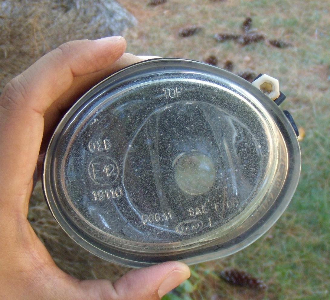 diy fog light sandingrefinishing with pics before 1jpg - How To Polish Glass