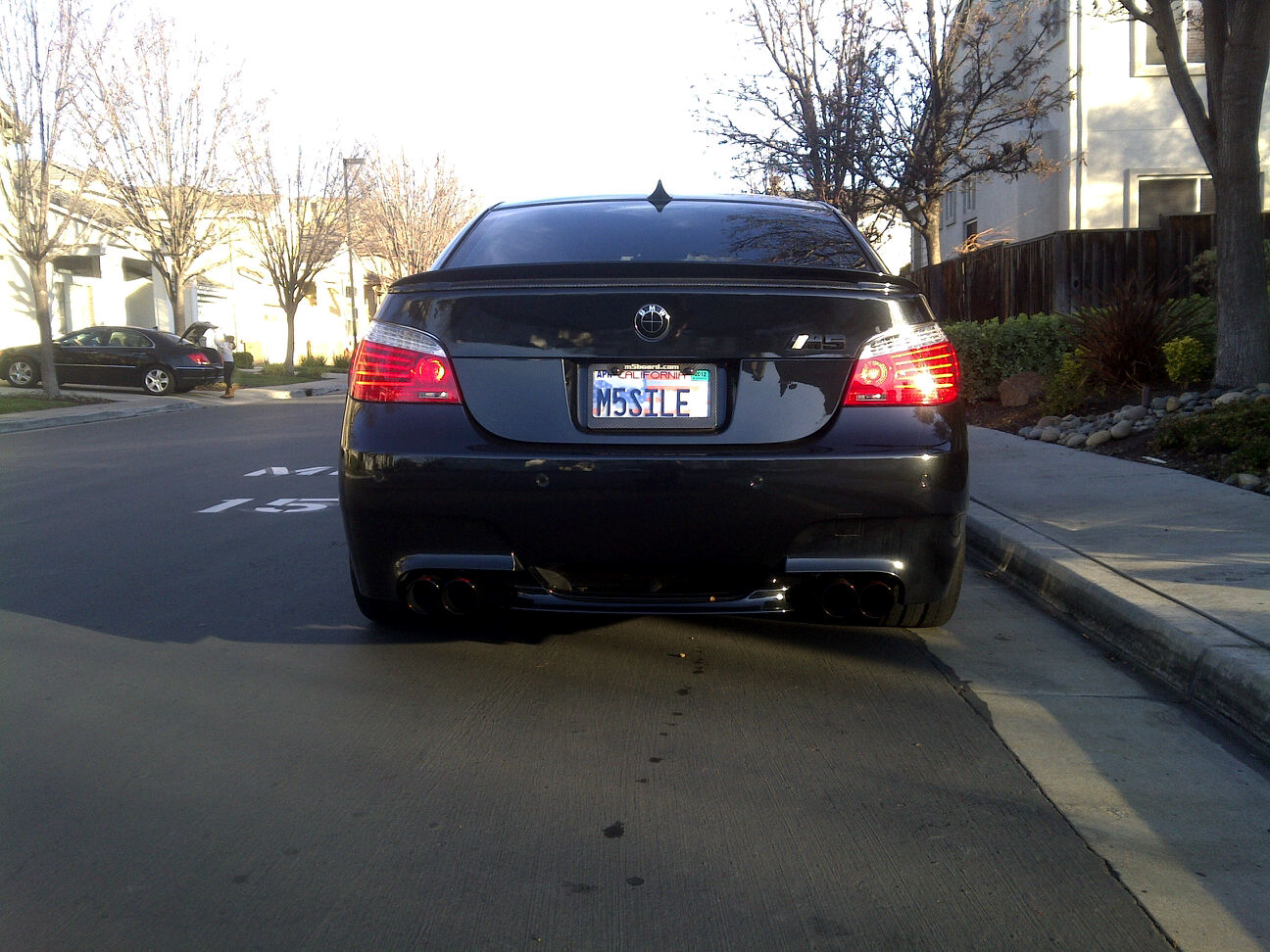 Rpi Exhaust W Gloss Black Tips And Red Rpi Logo Page 5 Bmw M5 Forum And M6 Forums