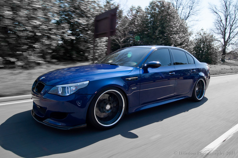 Rolling shots of Modded E60 M5