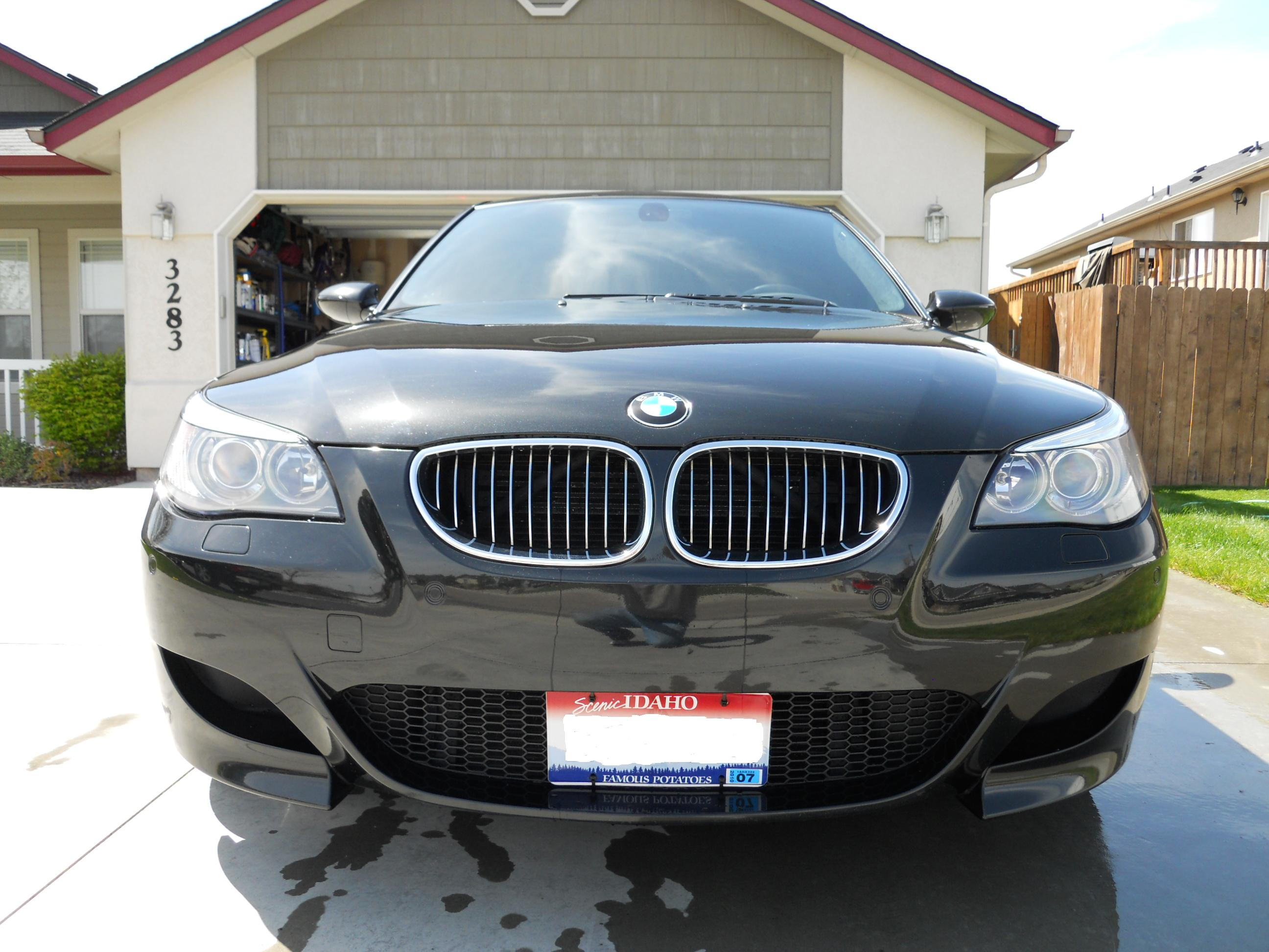 Front license plate holder  BMW M5 Forum and M6 Forums
