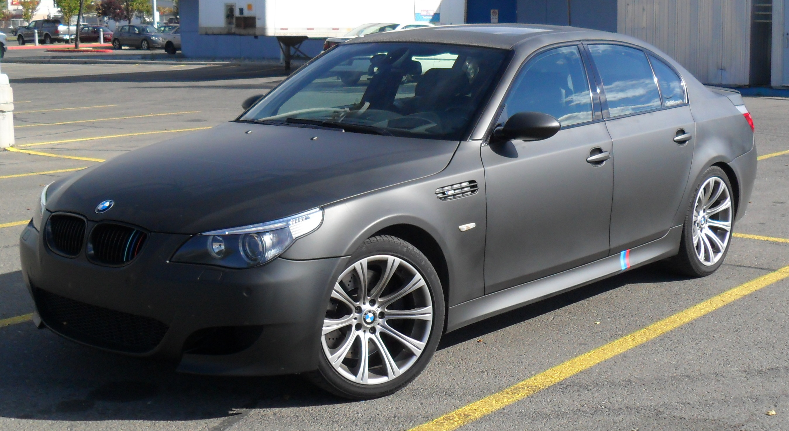Click image for larger version name bmw_m5_wrapped jpg views 60011 size 844 0