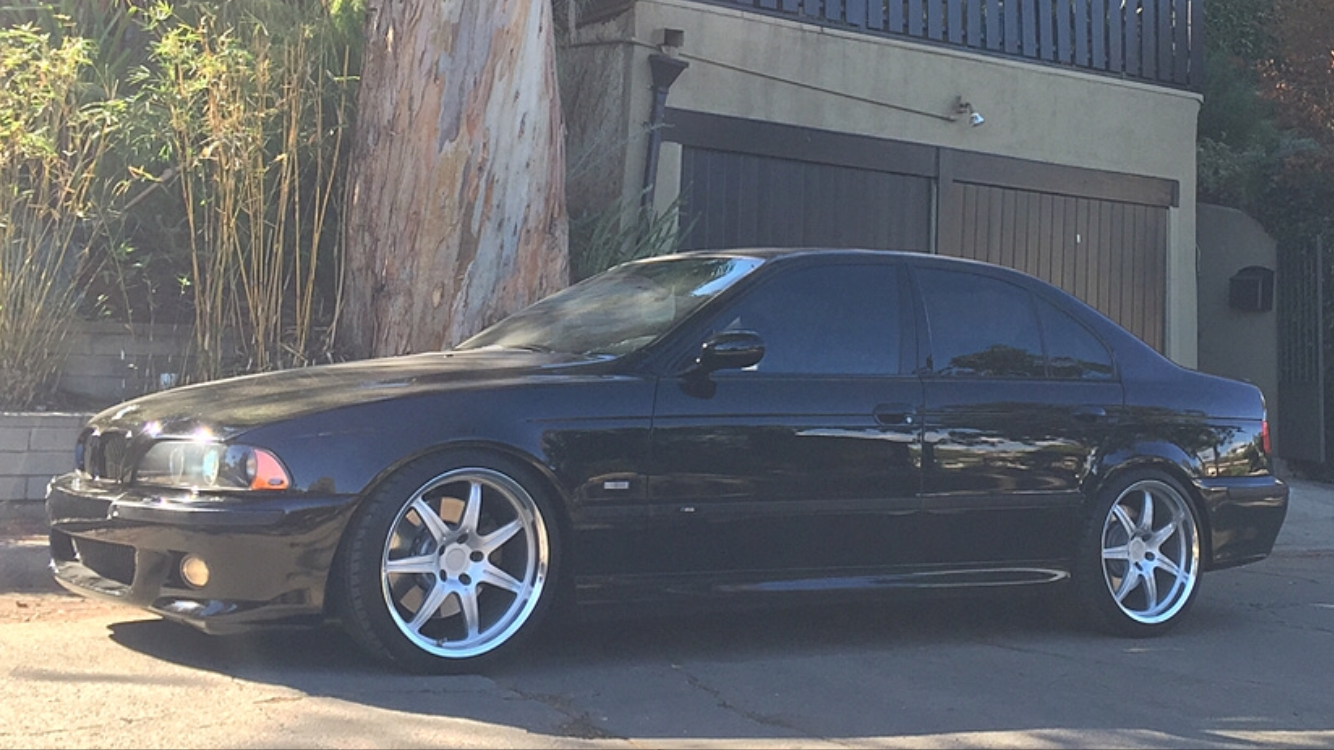 DINAN WHEELS STAGERRED 19x9 and 19x10. W/ TIRES AND E39 H&R ADAPTERS-d4ba5102-6489-4496-be1e-fb7323bd6e7c.png