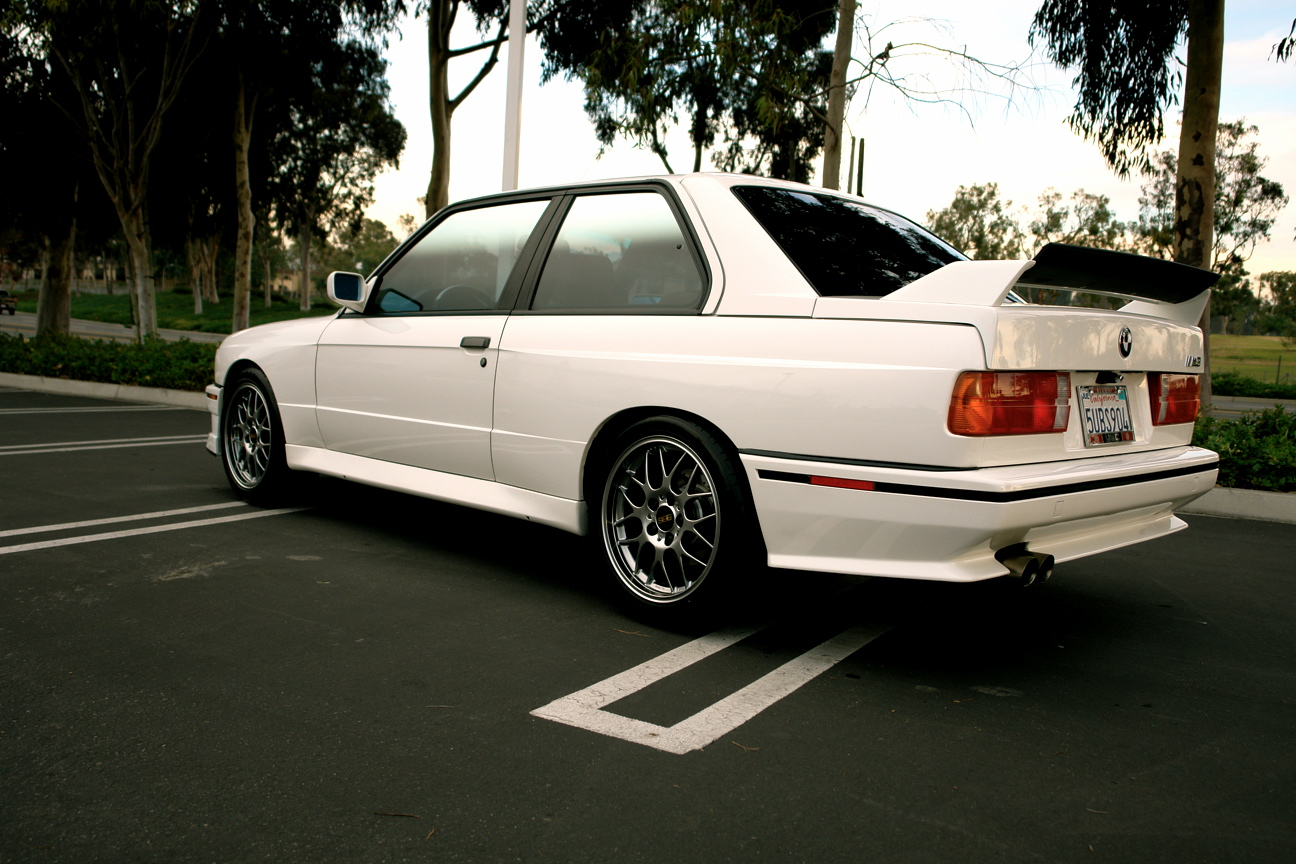 My M5 [With BBS wheels and E30