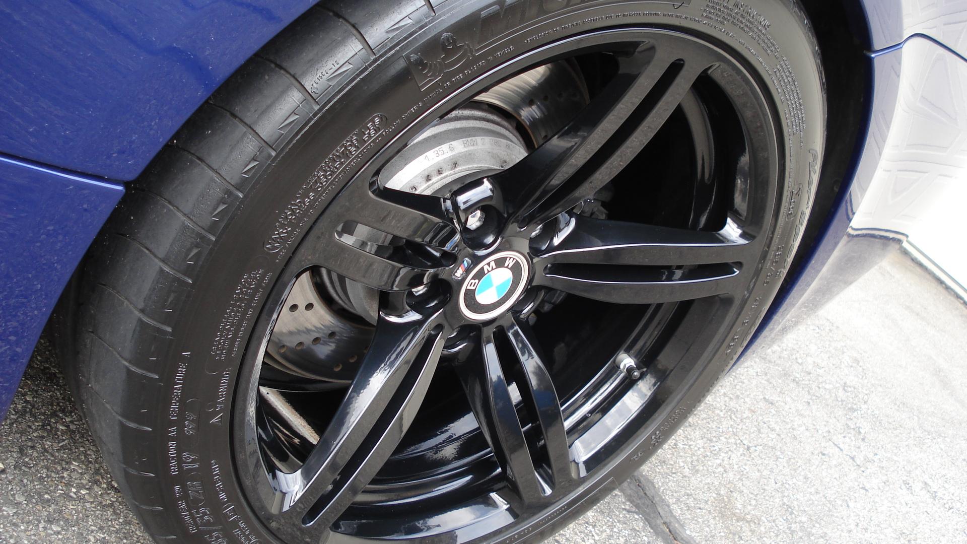 My Gloss Black Powder Coat Wheels Mounted On Interlagos