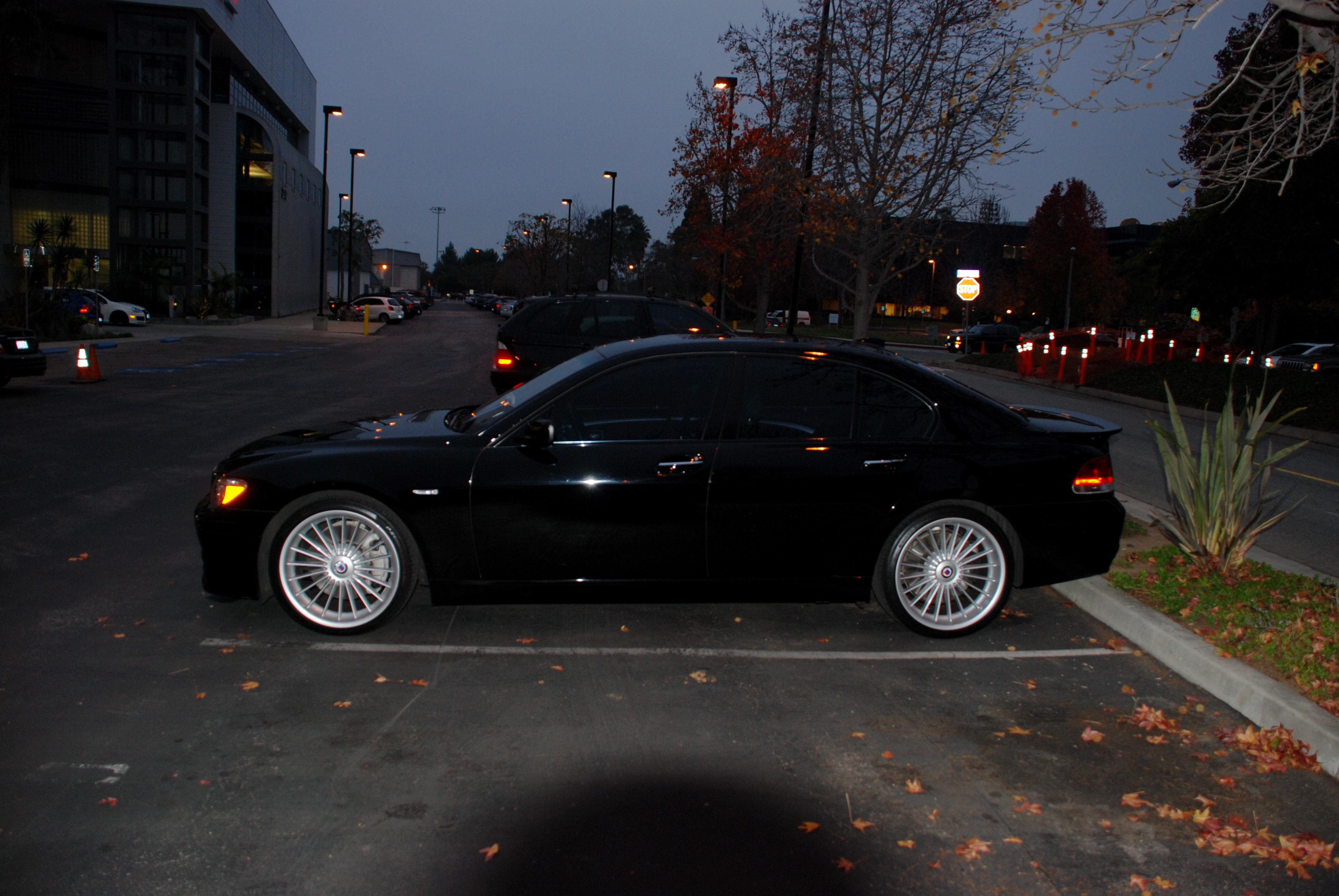 Member Ljacksonmak Stunning Black BMW Alpina B7