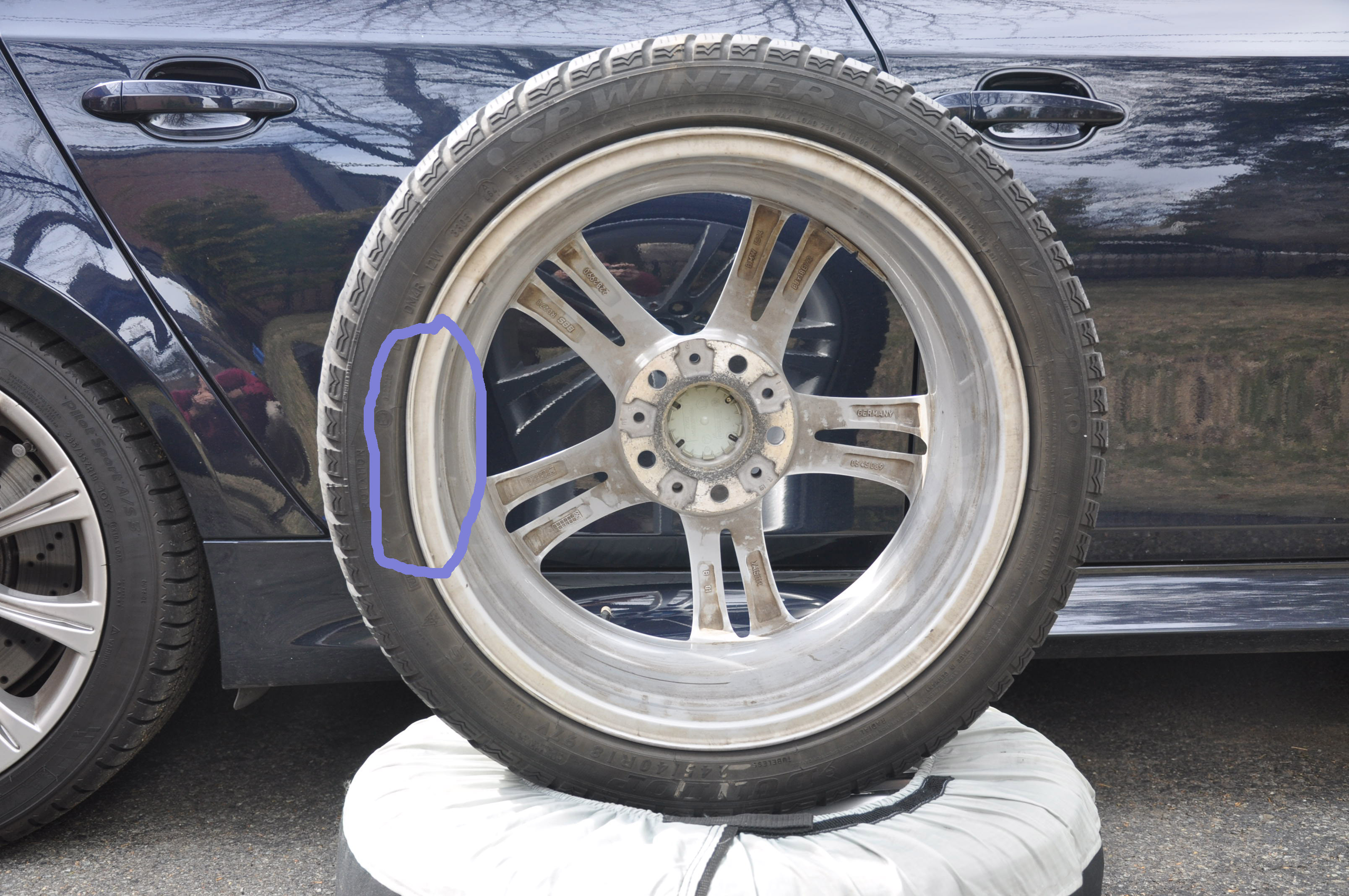 Advice re Bent Rim from Craigslist Seller BMW M5 Forum and M6 Forums