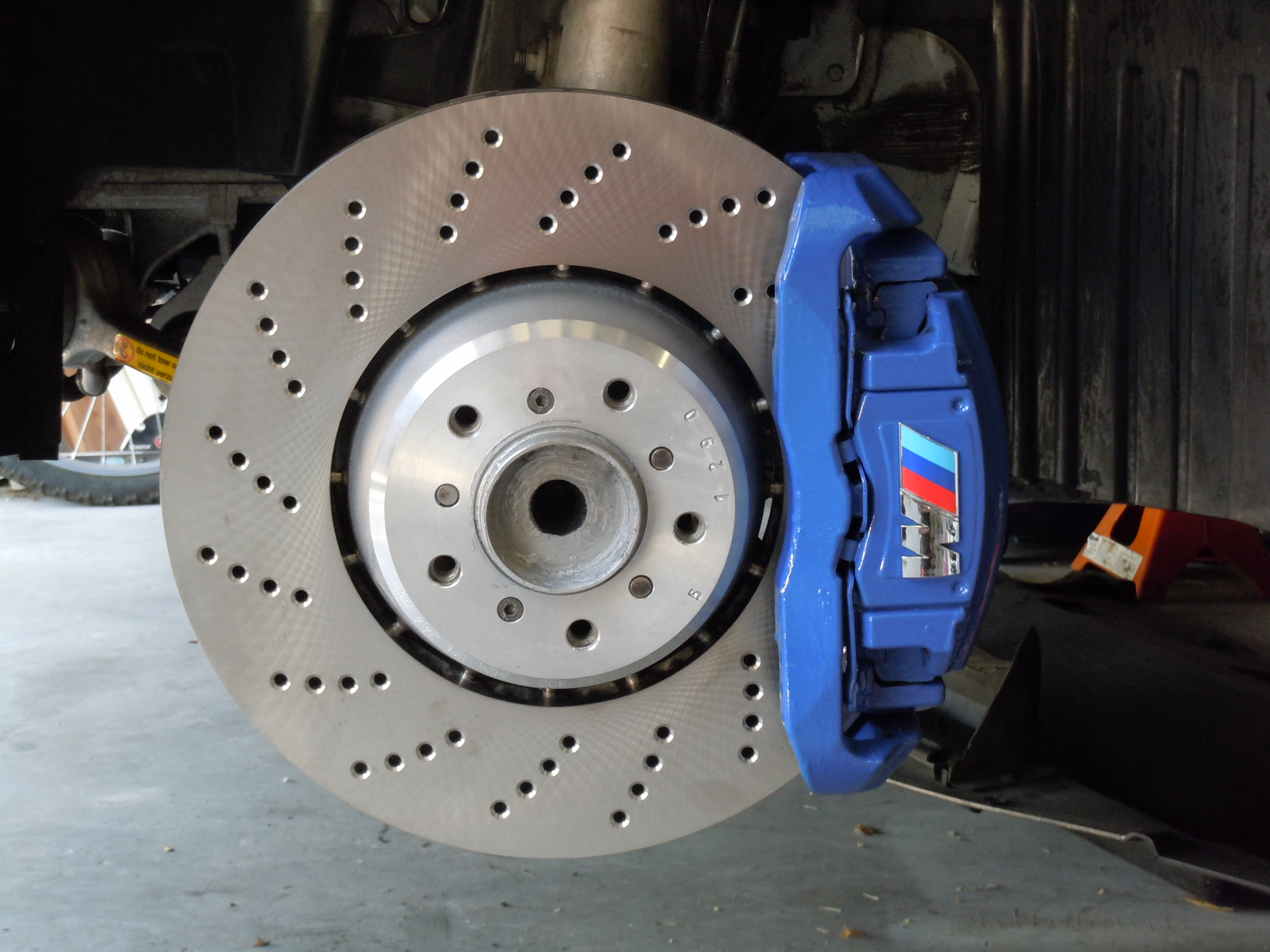 Calipers Repainted Page 3 Bmw M5 Forum And M6 Forums