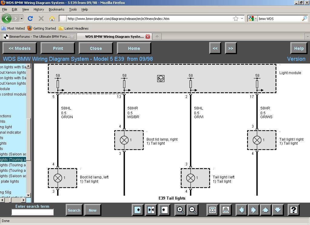 Amusing BMW E39 Lwr Wiring Diagram Images - Best Image Diagram ...