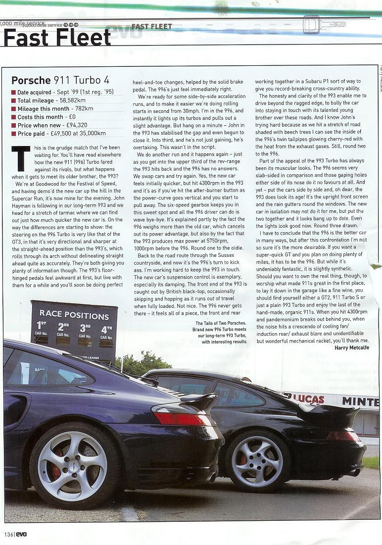 M5 vs 911 turbo S (993) - The