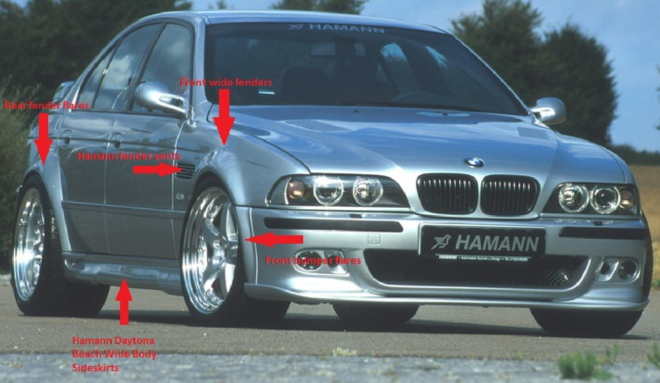 E39 96 03 For Sale M5 E39 Hamann Daytona Beach Wide Body Kit Bmw M5 Forum And M6 Forums