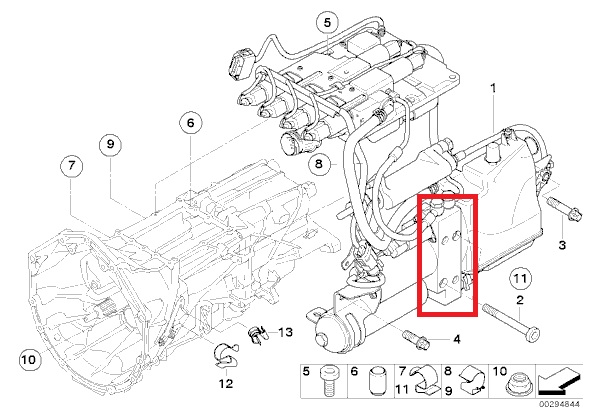 smg hydraulic pump part bmw m5 forum and m6 forums attached images