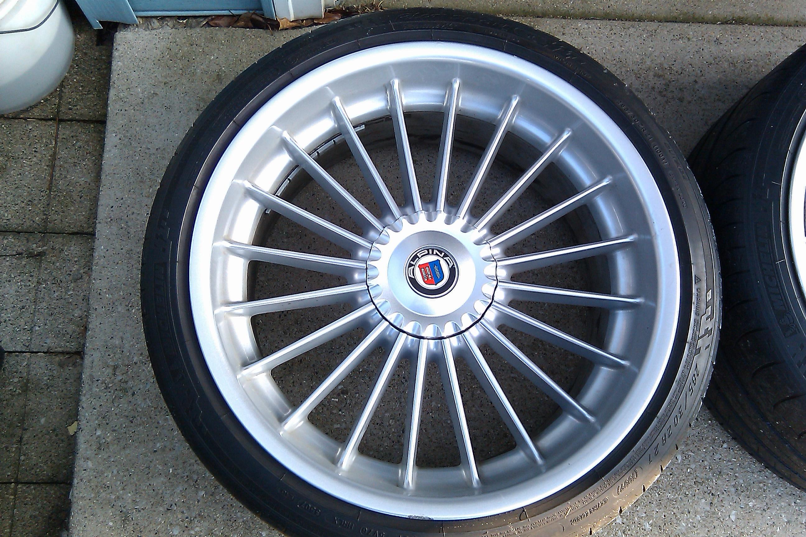 "ALPINA For Sale 21"" Orignal Alpina Wheels with Tires - BMW M5 Forum ..."