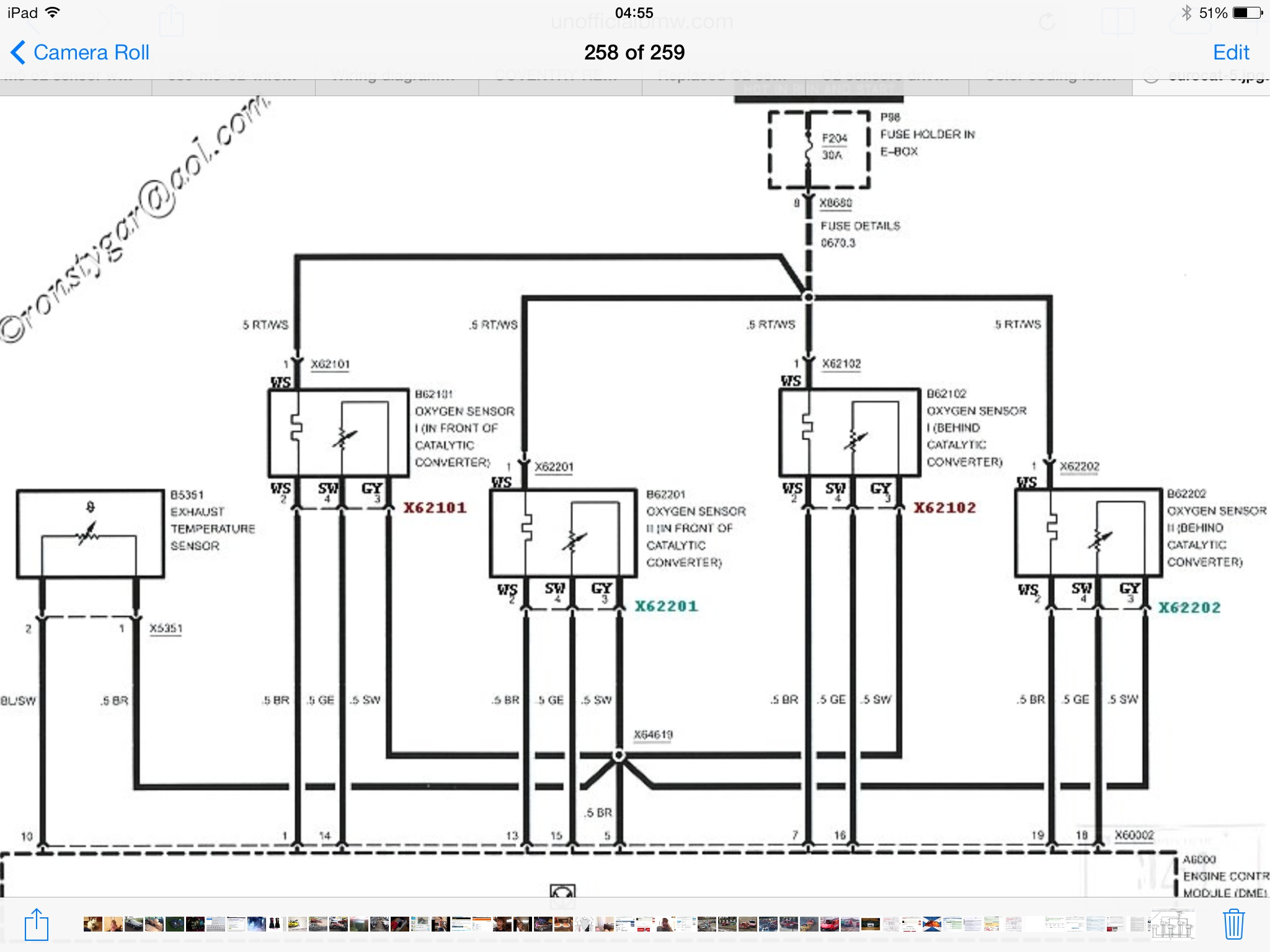 Another O2 sensor wiring thread :( | BMW M5 Forum and M6 Forums | Bmw Oxygen Sensor Wiring Diagram |  | M5Board