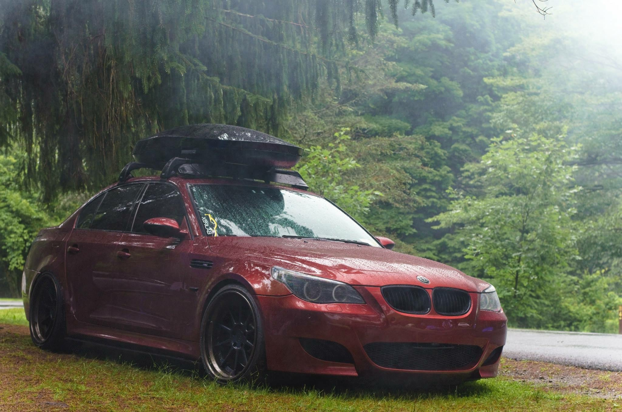 Yakima Cargo Box Newest Add On To My Roof Rack Bmw M5 Forum And M6 Forums