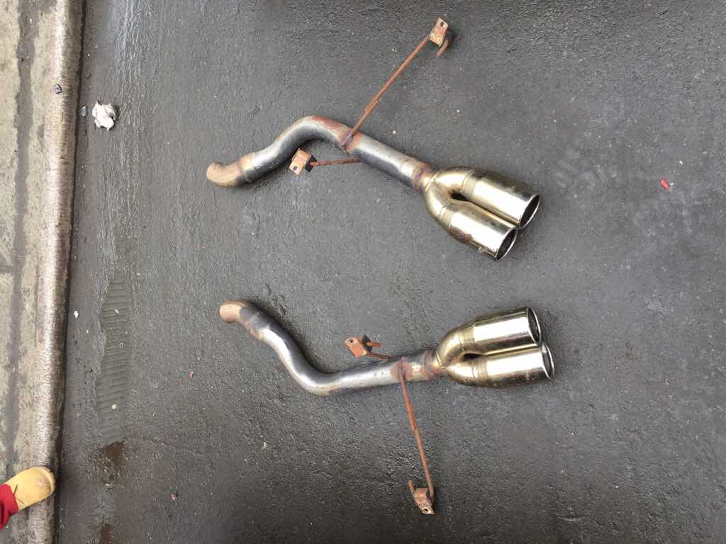 Muffler Delete Pipes With Tips 150 Plus Shipping Bmw