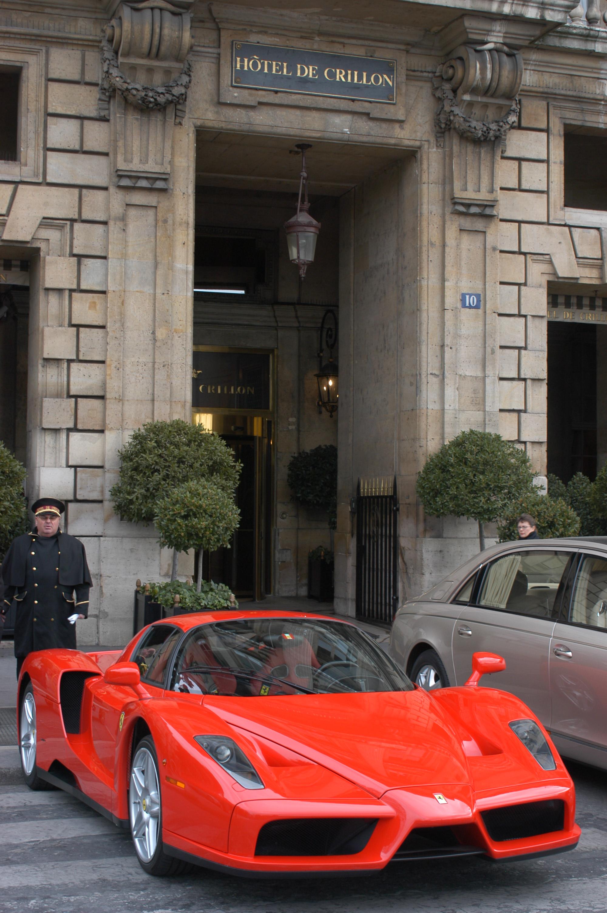 Ferrari european delivery