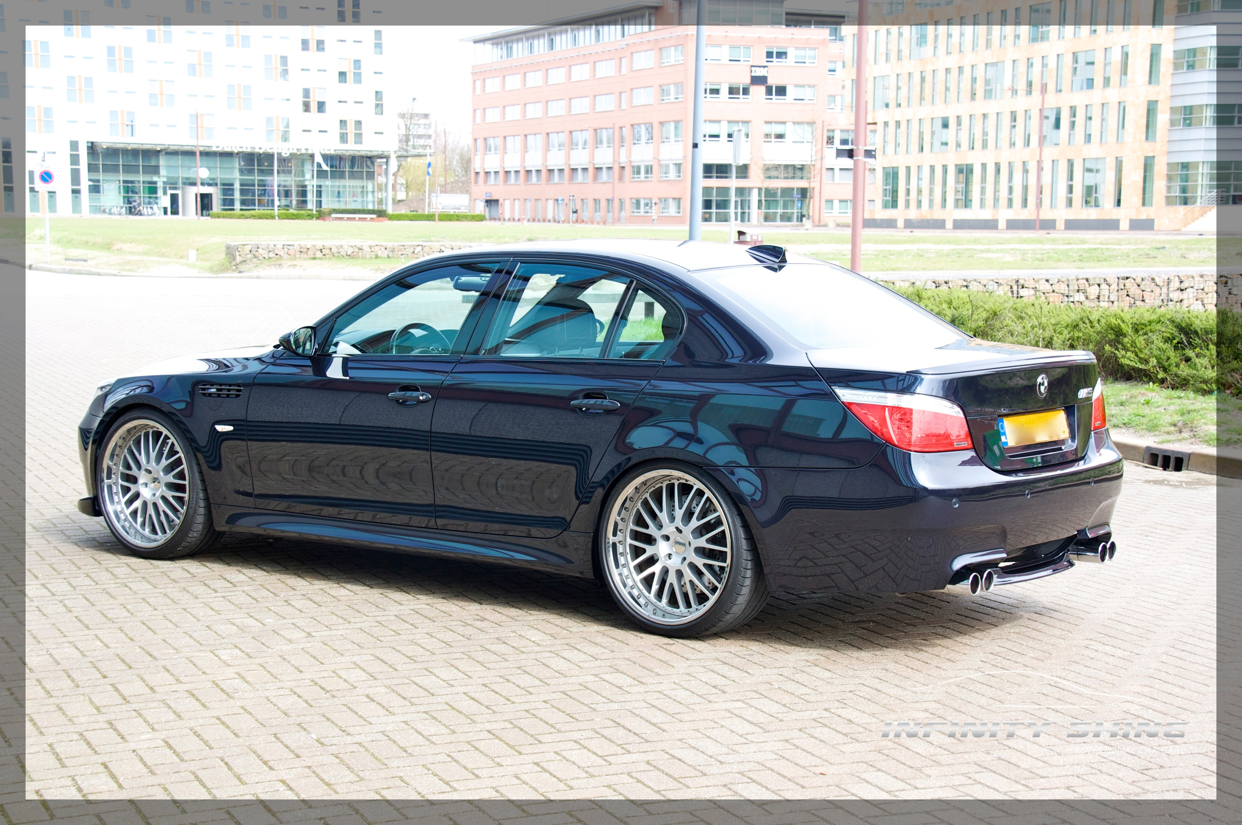 Member M Bitious Carbon Black Bmw M5 In The Netherlands