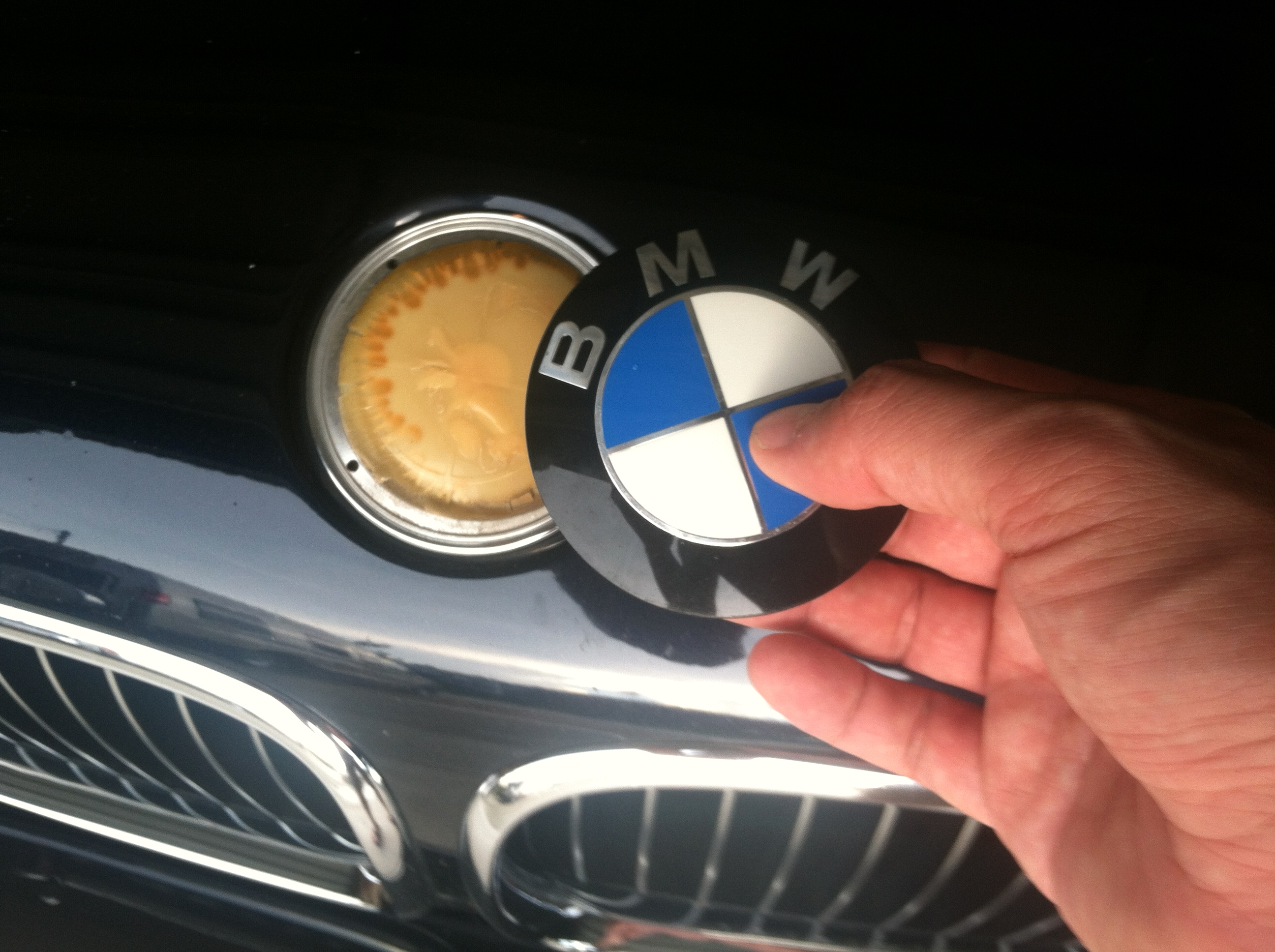 Replace Roundel Or Re Glue Emblem Bmw M5 Forum And M6 Forums