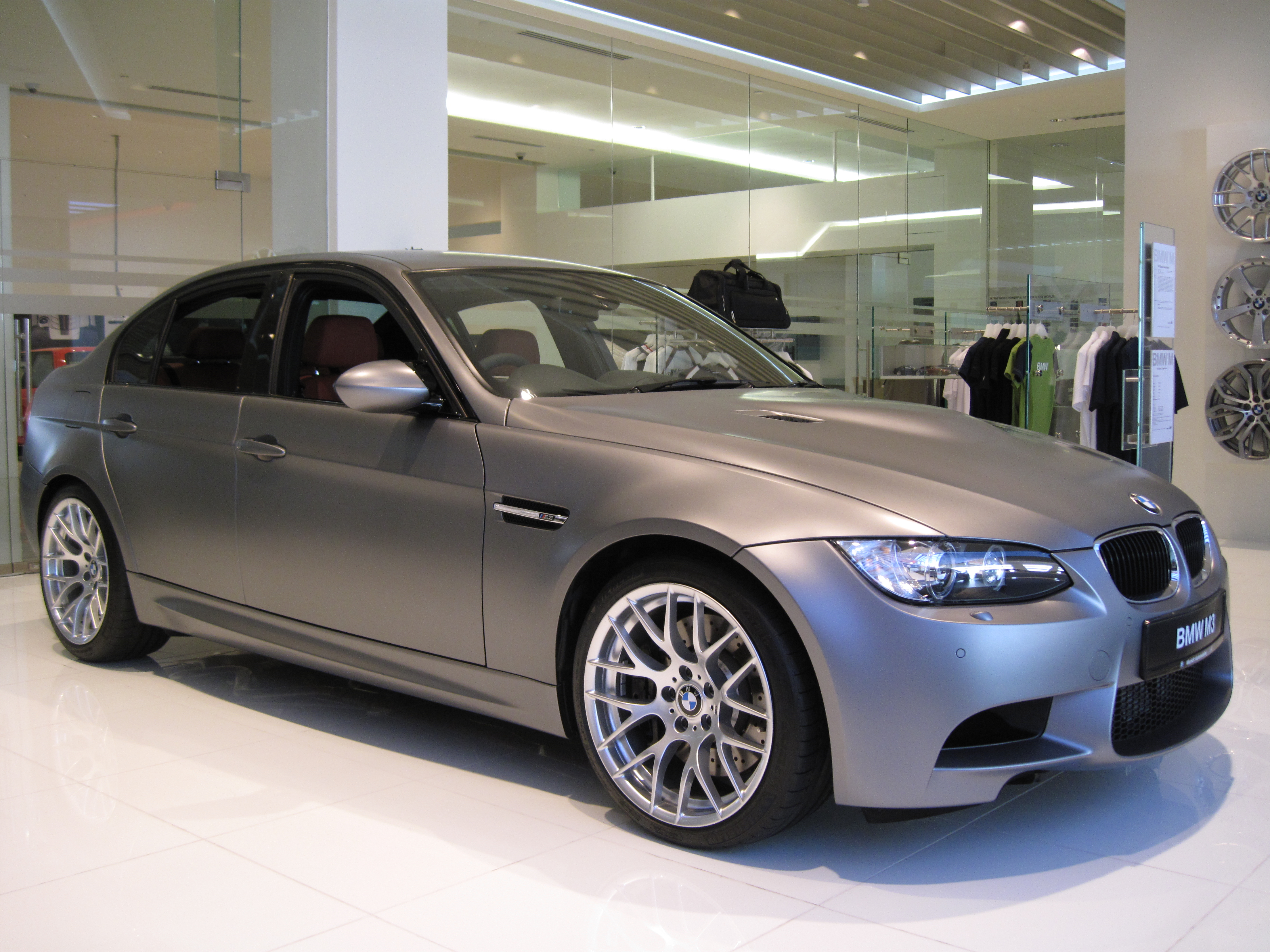 M1 Hommage with M3 Sedan Competition Package in Frozen Grey with E30 ...