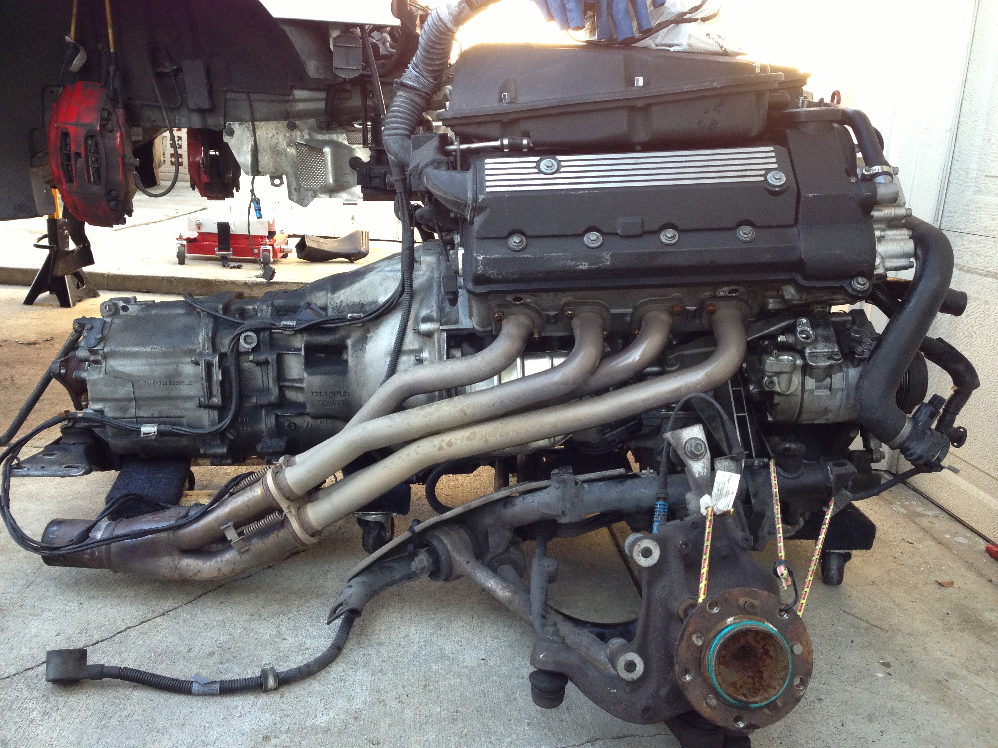 Jet Hot Coated Supersprint headers w/ connecting & cat delete pipes-img_1256.jpg
