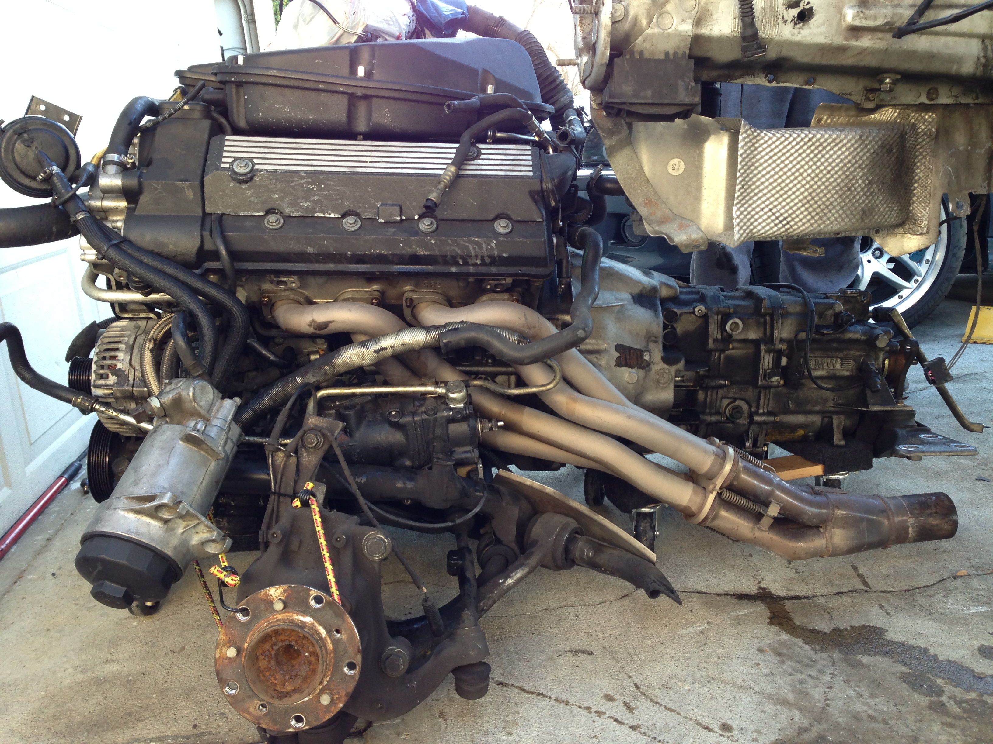 Jet Hot Coated Supersprint headers w/ connecting & cat delete pipes-img_1257.jpg