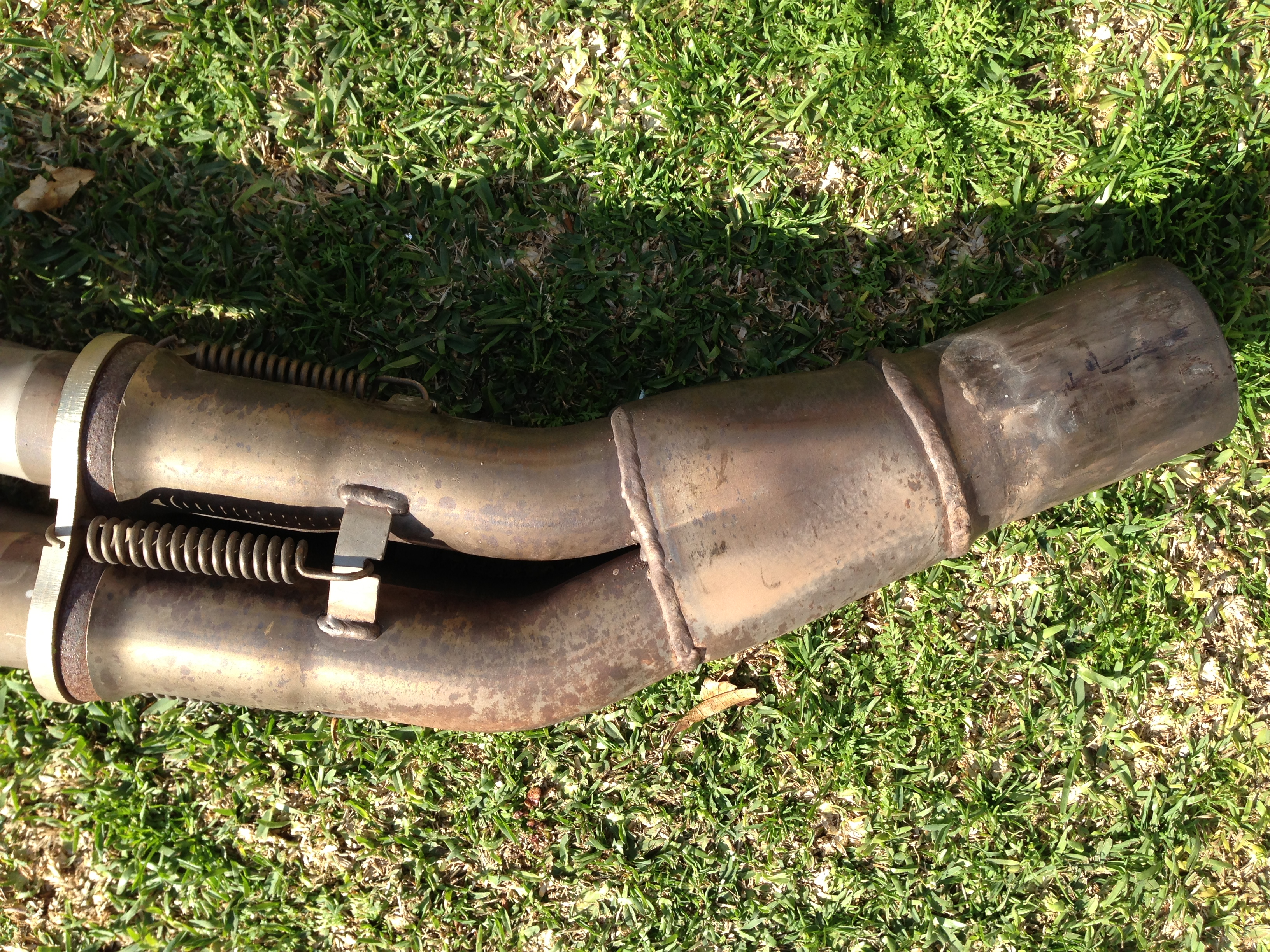 Jet Hot Coated Supersprint headers w/ connecting & cat delete pipes-img_1288.jpg