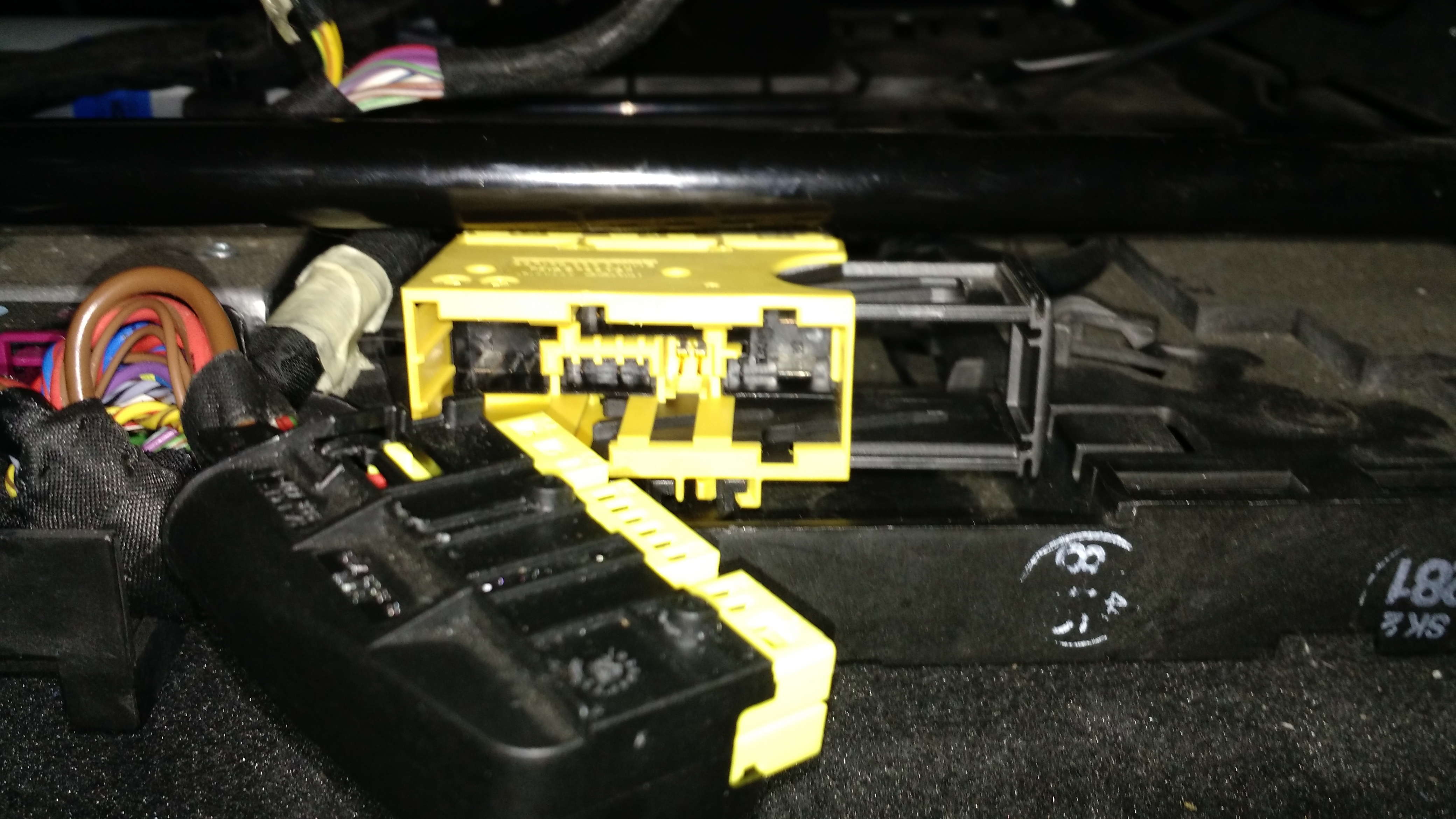 help removing seatbelt wiring harness cover under front passenger click image for larger version 20150315 211452635 jpg views 6256 size 2 39