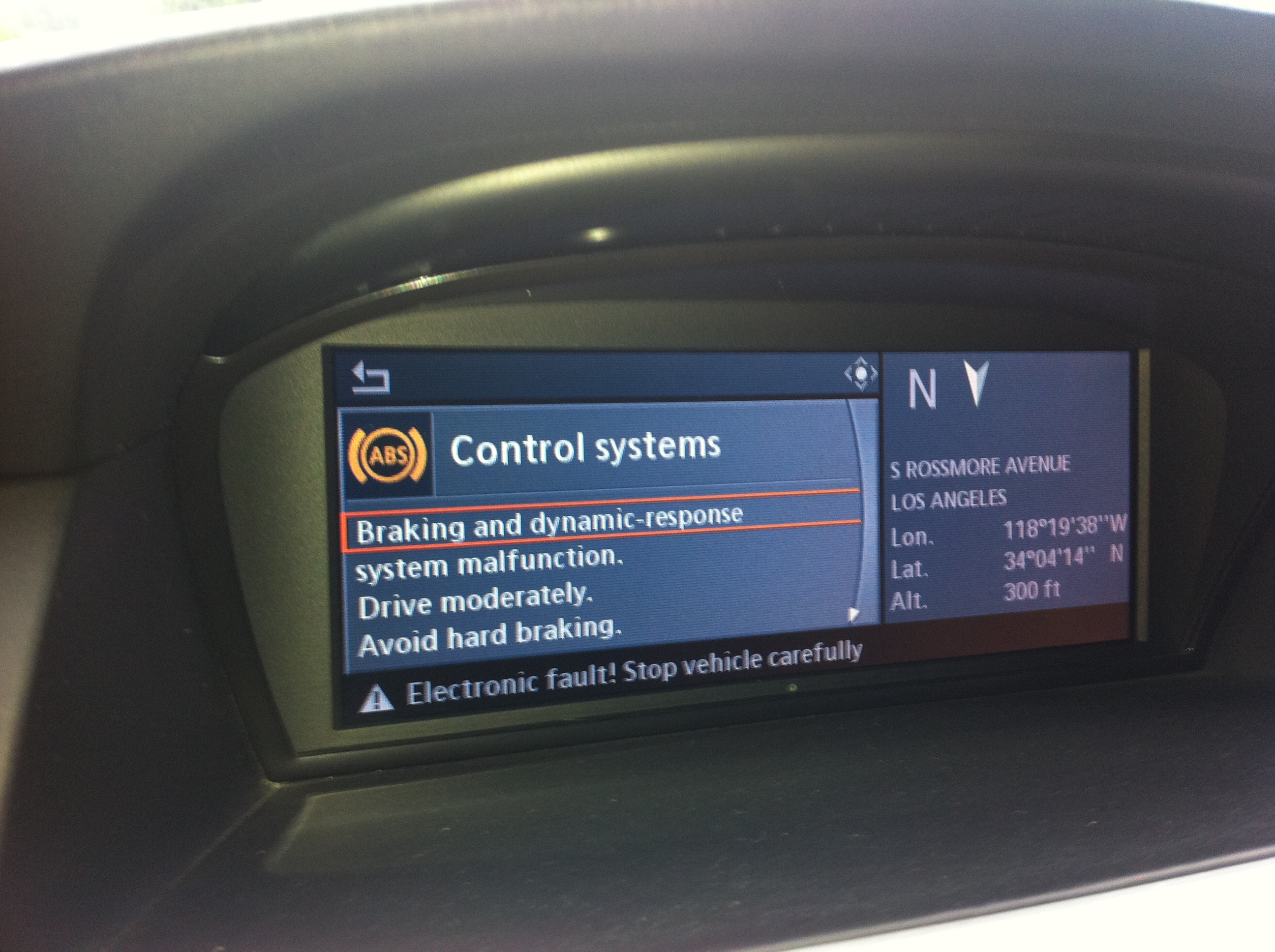 2008 Bmw X5 Electrical System Malfunction Electrical System