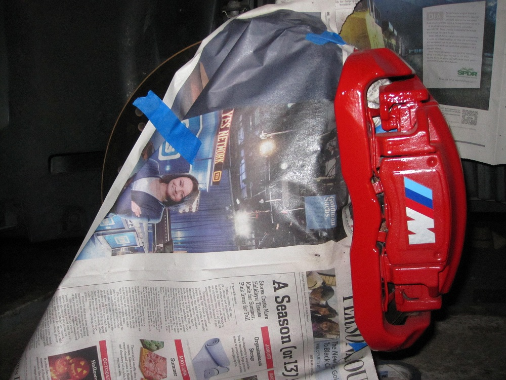 Red Brake Calipers With M Decal BMW M Forum And M Forums - Bmw m brake caliper decals