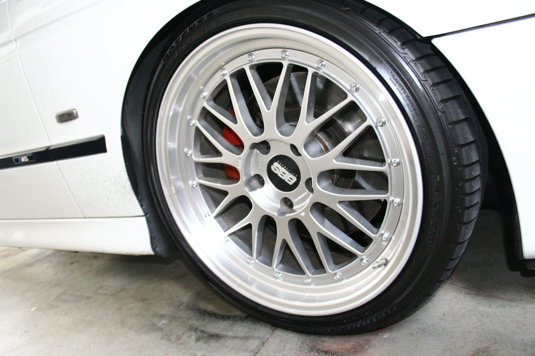 Authentic BBS LM 19x8.5