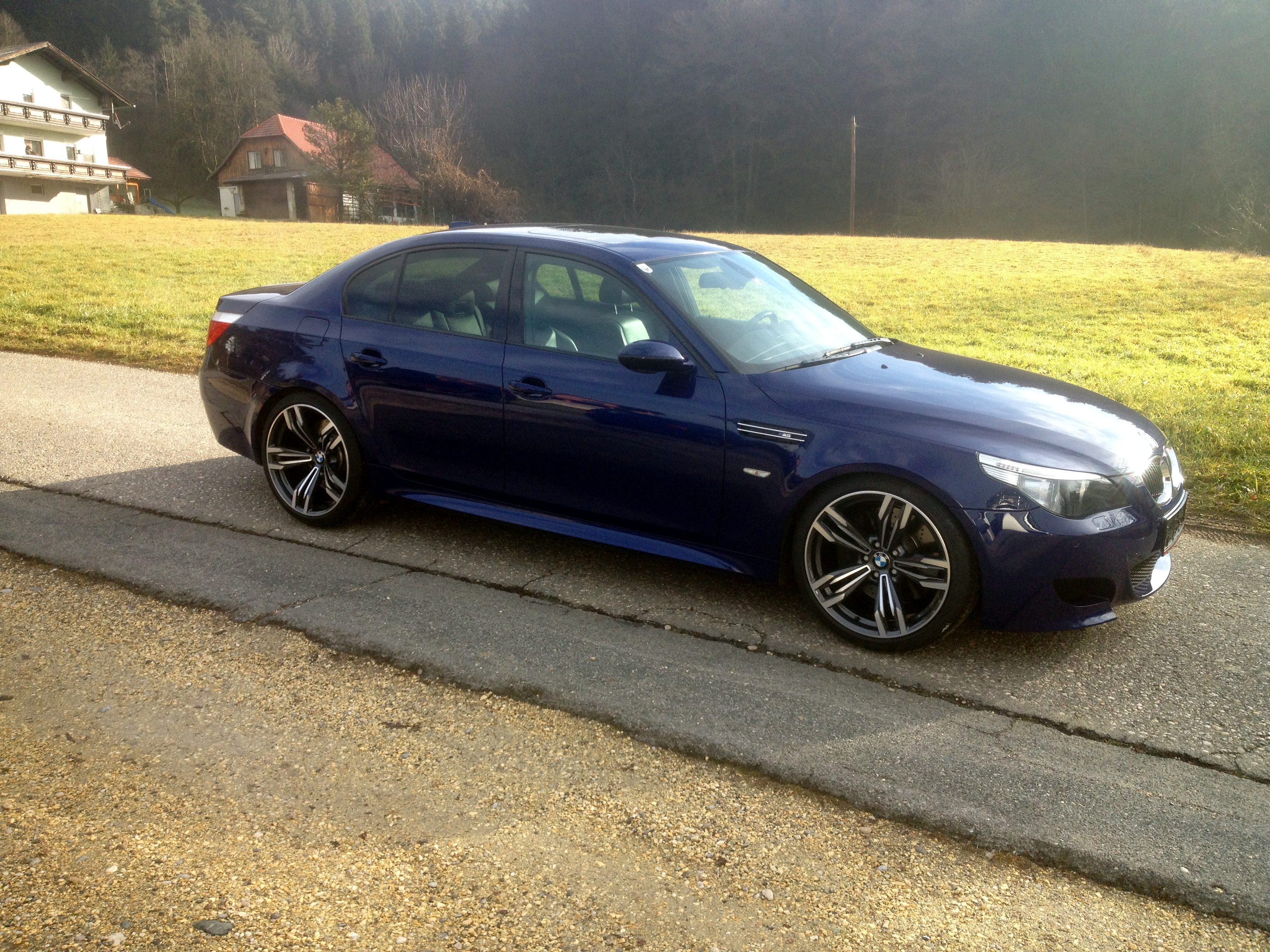 F12 M6 Wheels On An M5 Bmw M5 Forum And M6 Forums