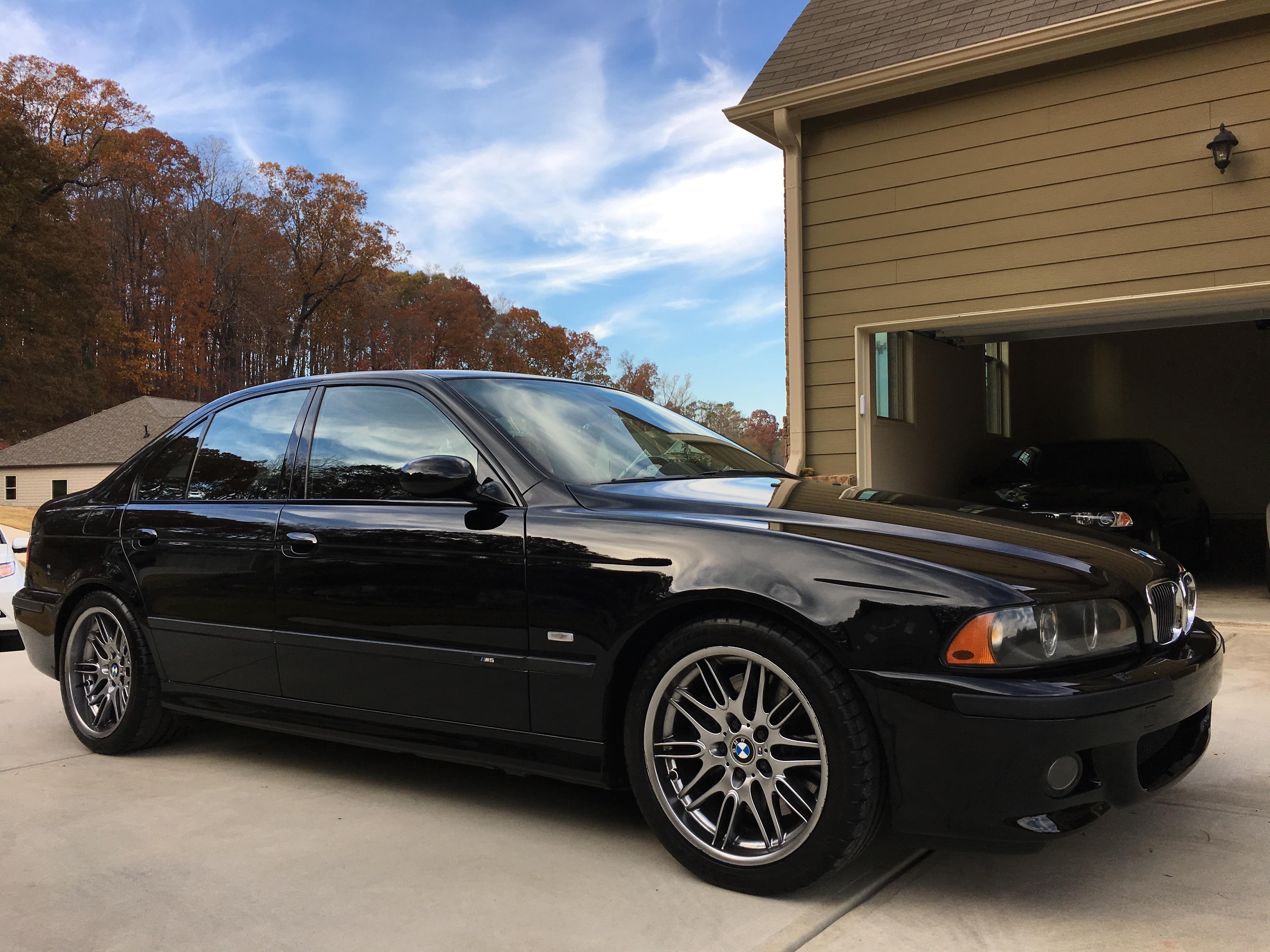 E39 96 03 For Sale 2002 Bmw M5 Jet Black Black With